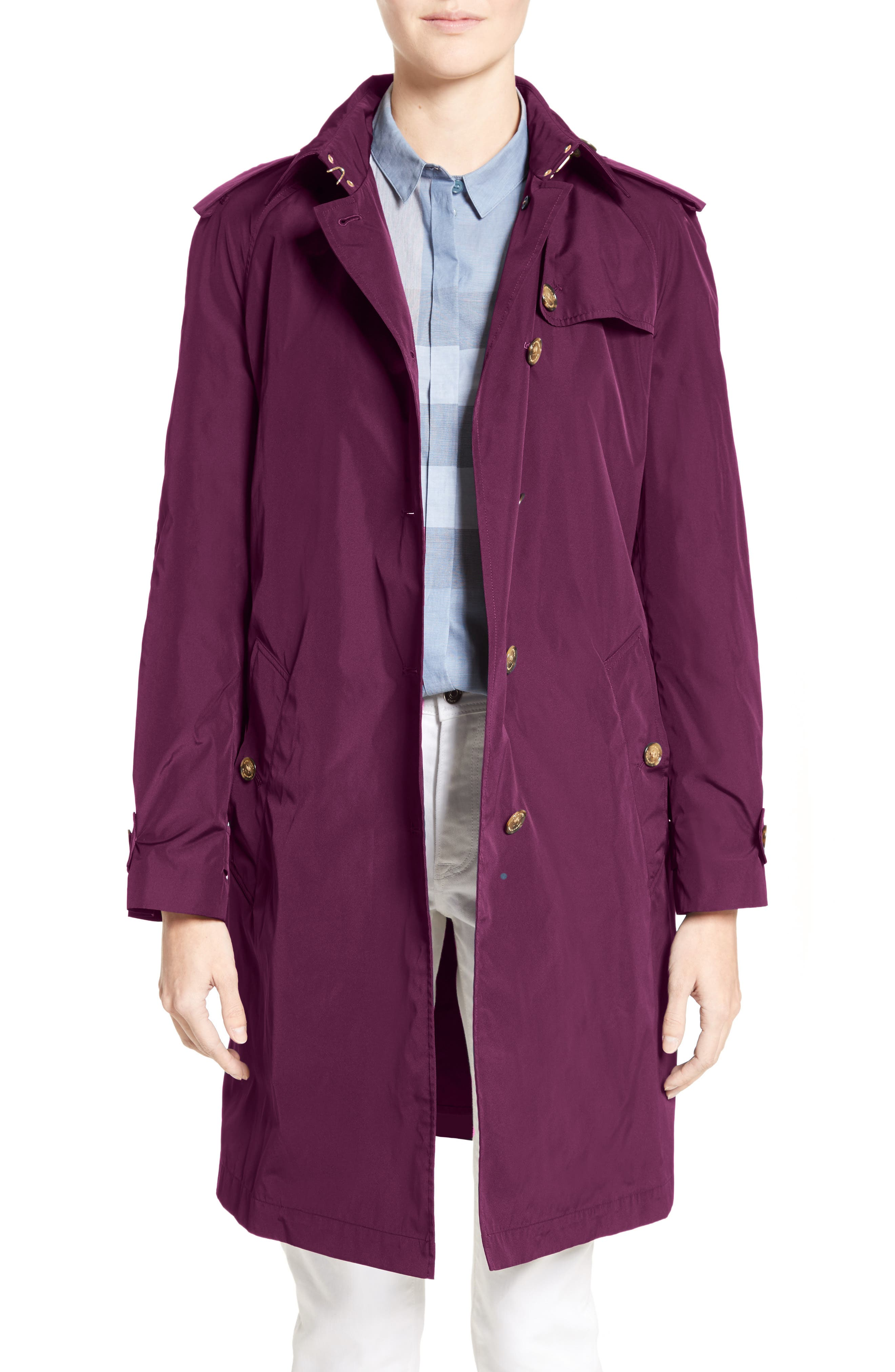 BURBERRY Renwick Oversize Trench Coat