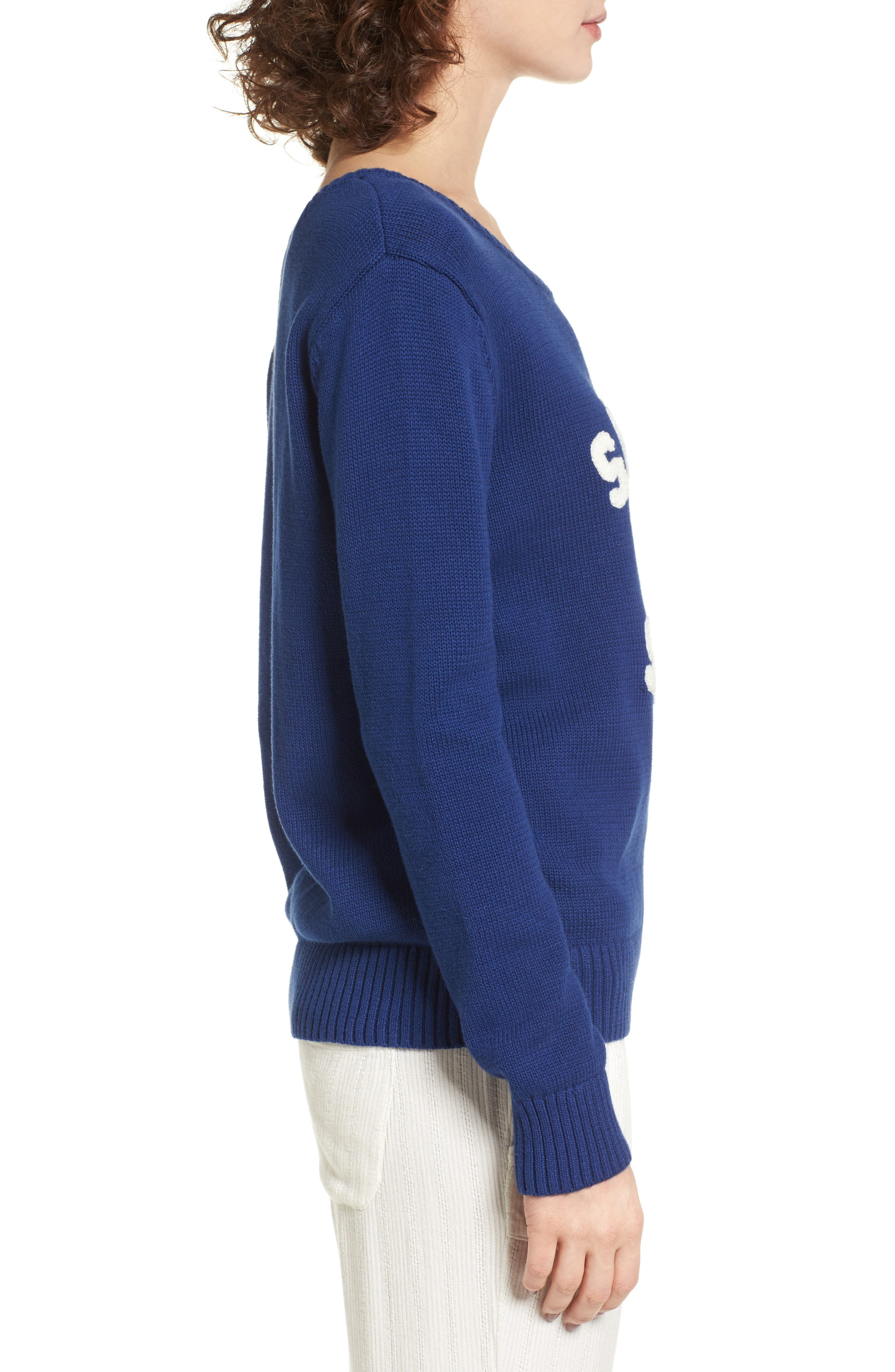 Alternate Image 3  - Roxy Higher Ground Graphic Sweater