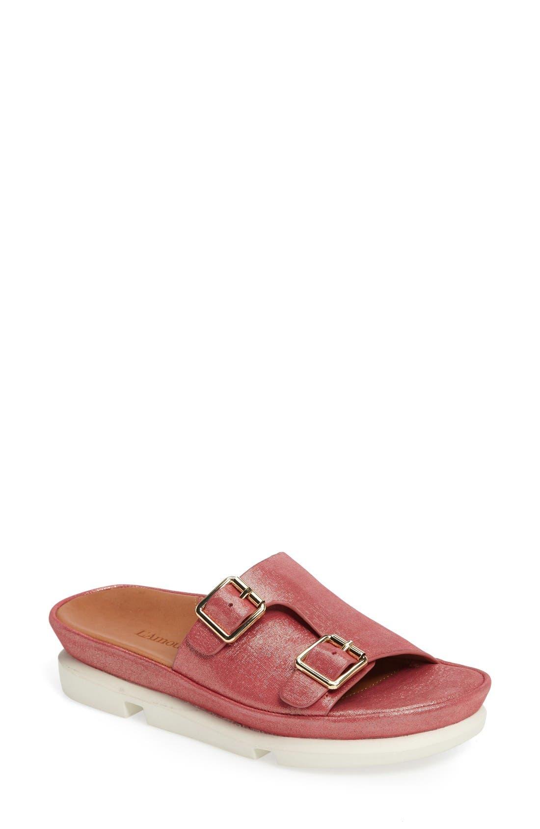 L'Amour des Pieds Viareggio Slide Sandal (Women)
