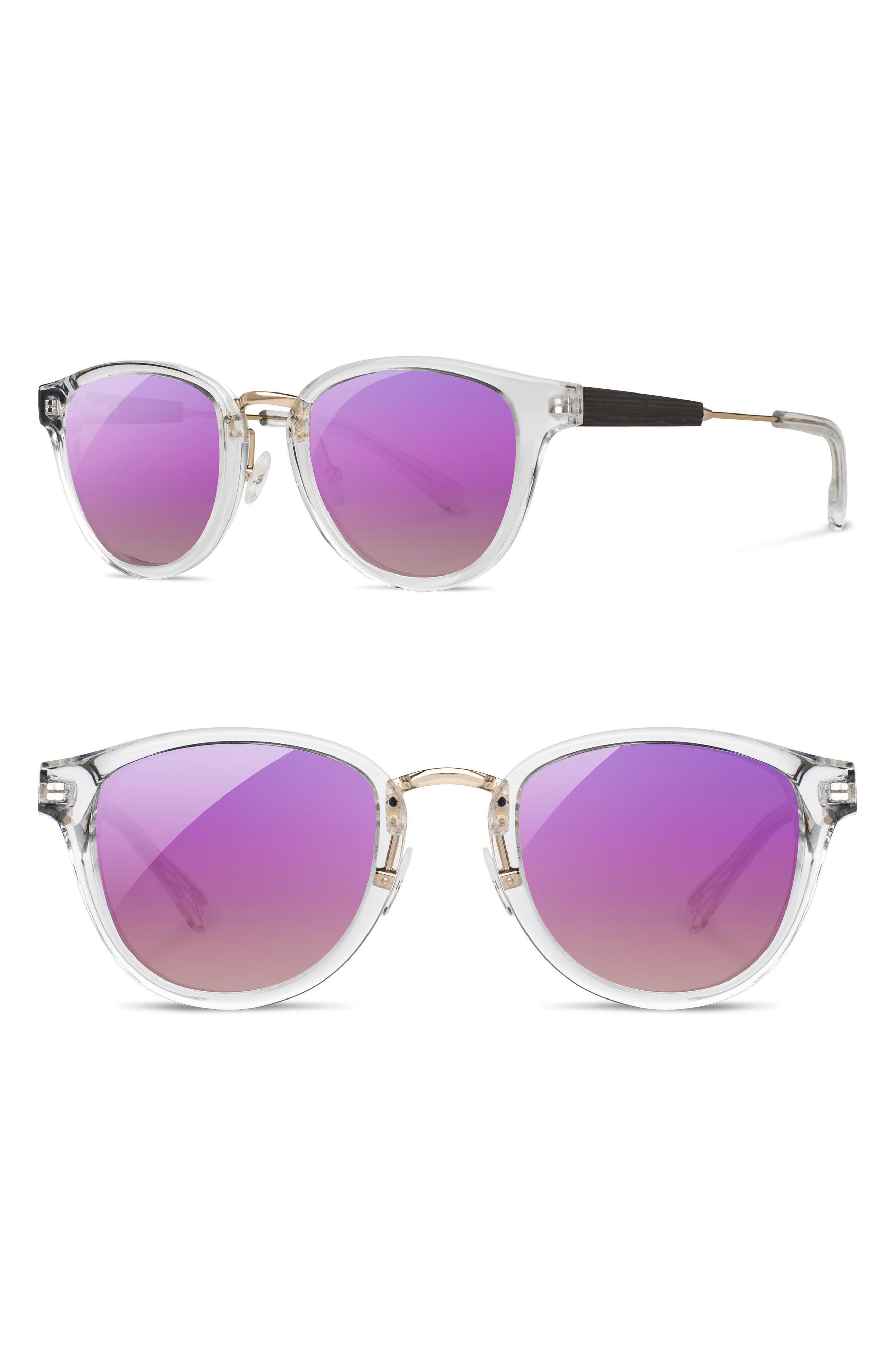 Shwood 'Ainsworth' 49mm Polarized Sunglasses