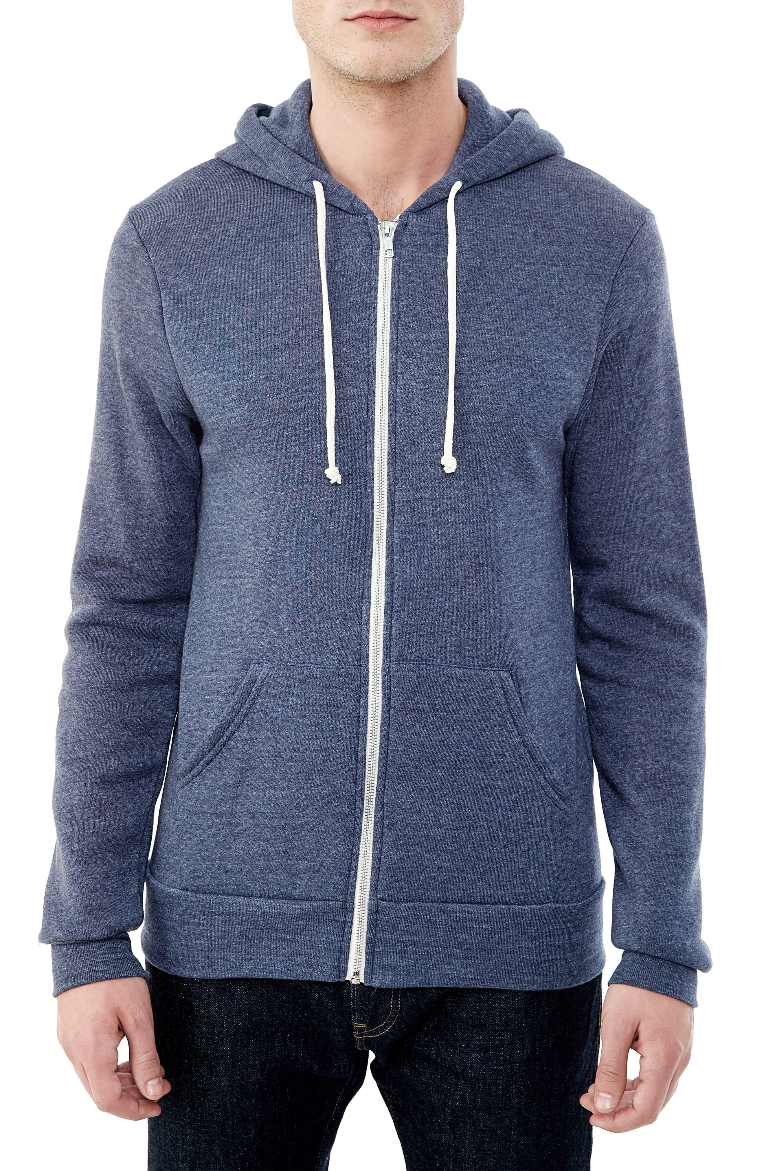 Alternative 'Rocky' Eco-Fleece™ Zip Hoodie