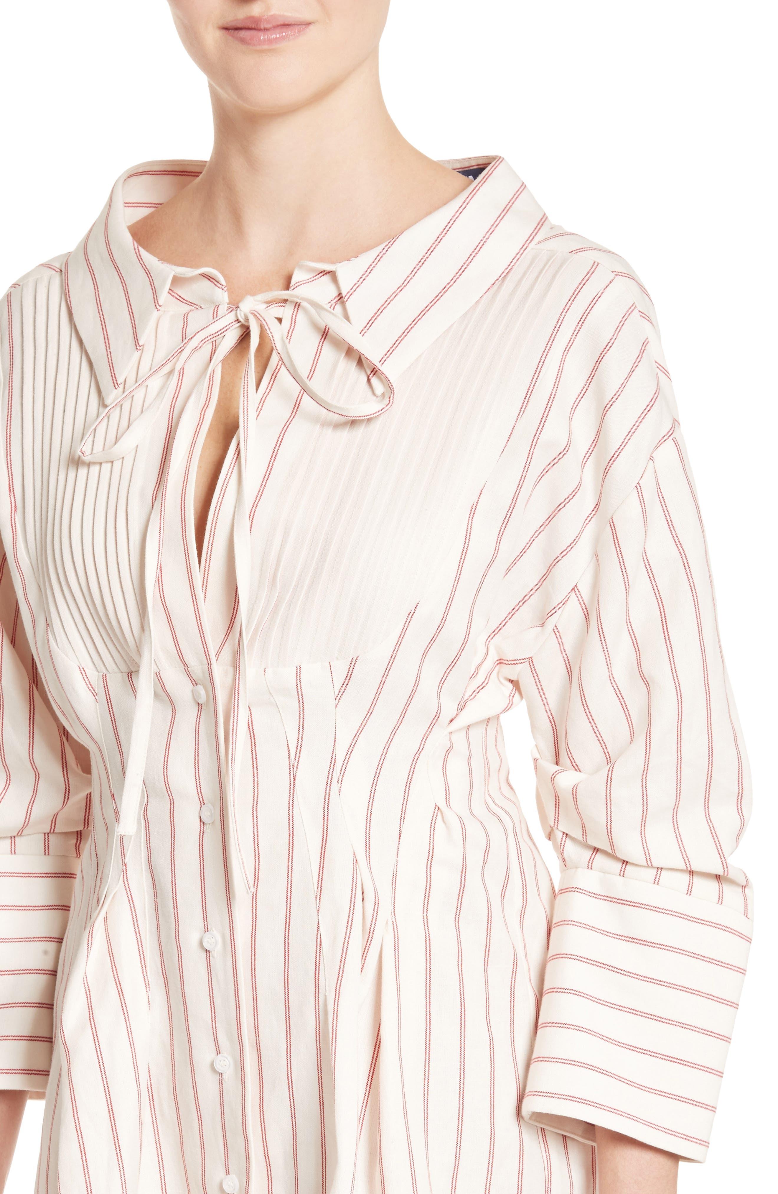 Alternate Image 6  - Jacquemus Arlesienne Shirtdress