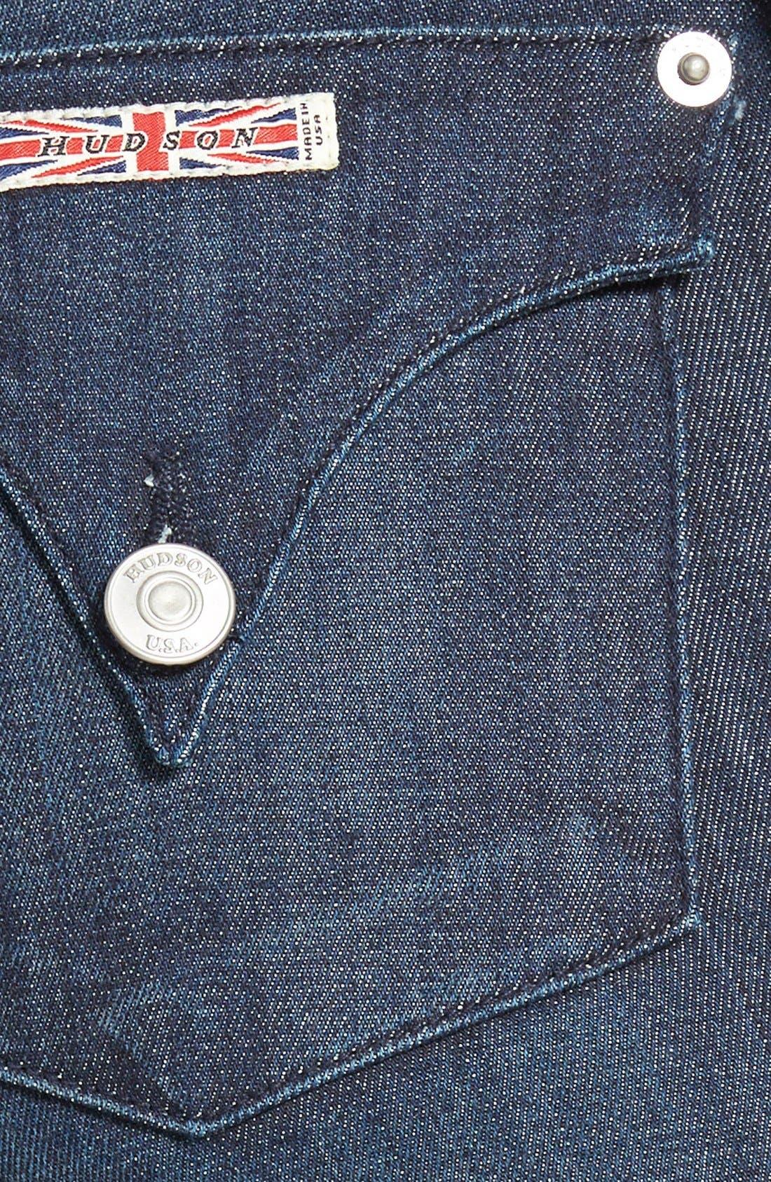 Alternate Image 3  - Hudson Jeans 'Lynn' Ultra Skinny Jeans (Stella 2)
