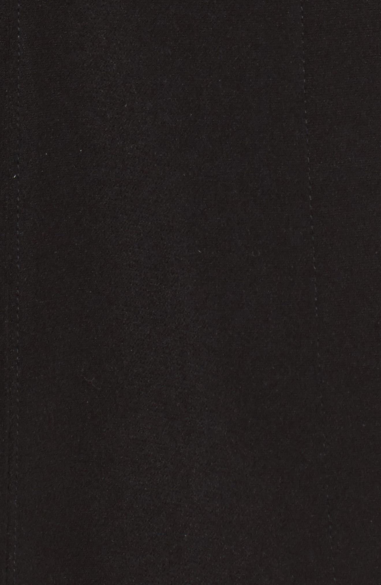 Alternate Image 5  - Gallery Pickstitch Nepage Walking Coat with Detachable Hood (Regular & Petite)