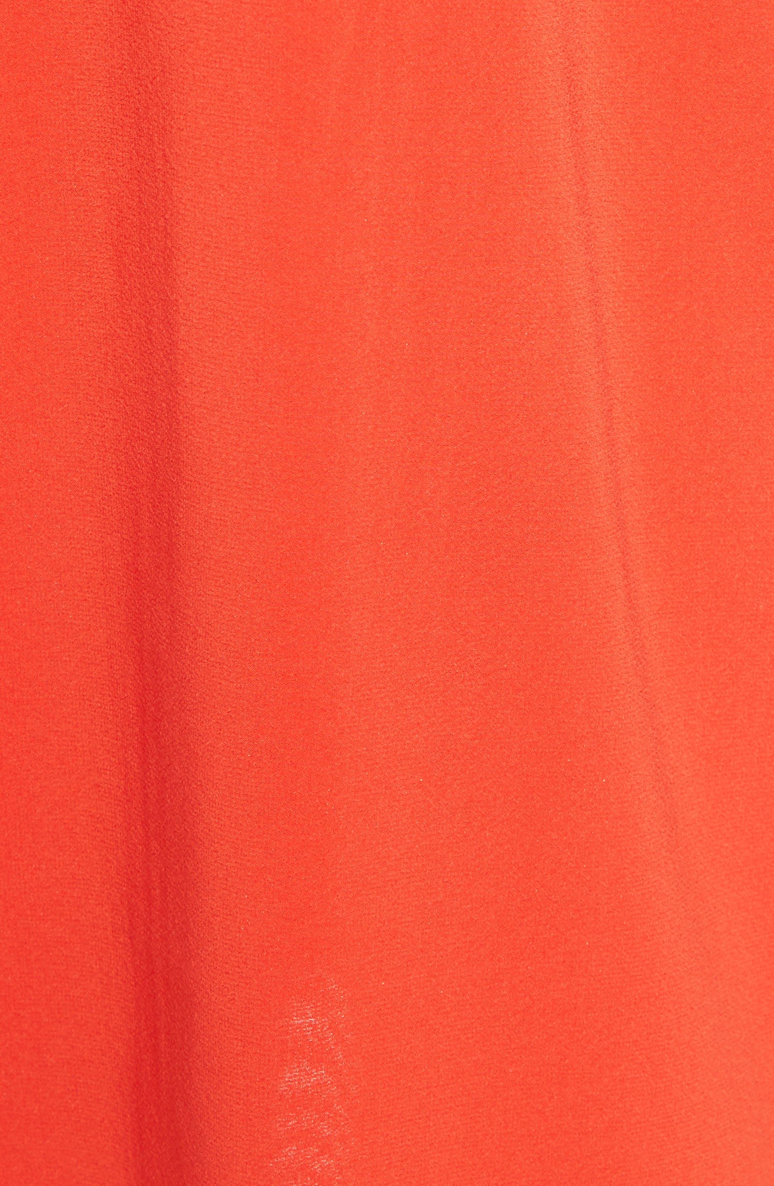 Alternate Image 5  - Alice + Olivia Fierra Racerback Tank Dress