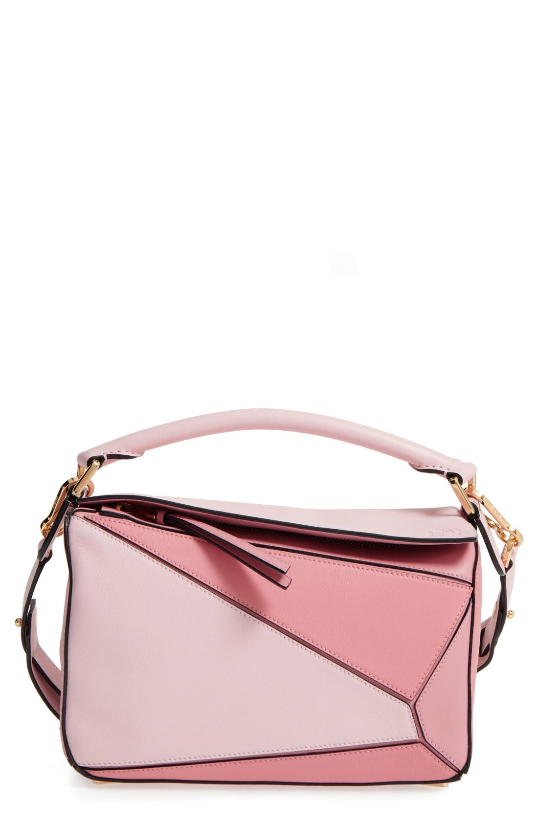 Alternate Image 1 Selected - Loewe Small Puzzle Leather Shoulder Bag