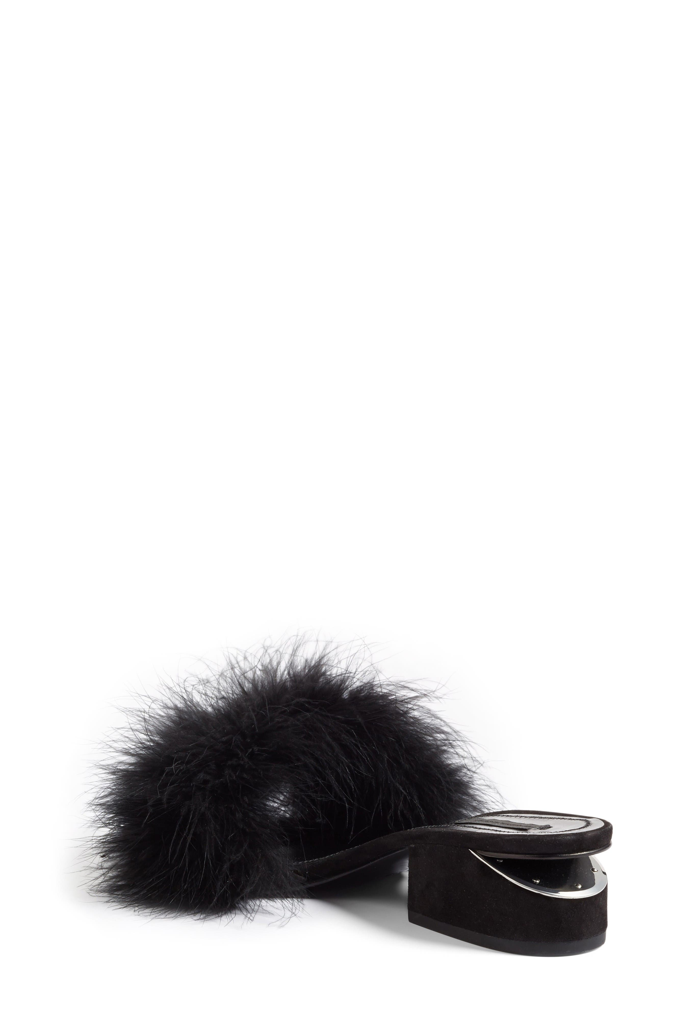 Alternate Image 2  - Alexander Wang Lou Feather Slide Sandal (Women)