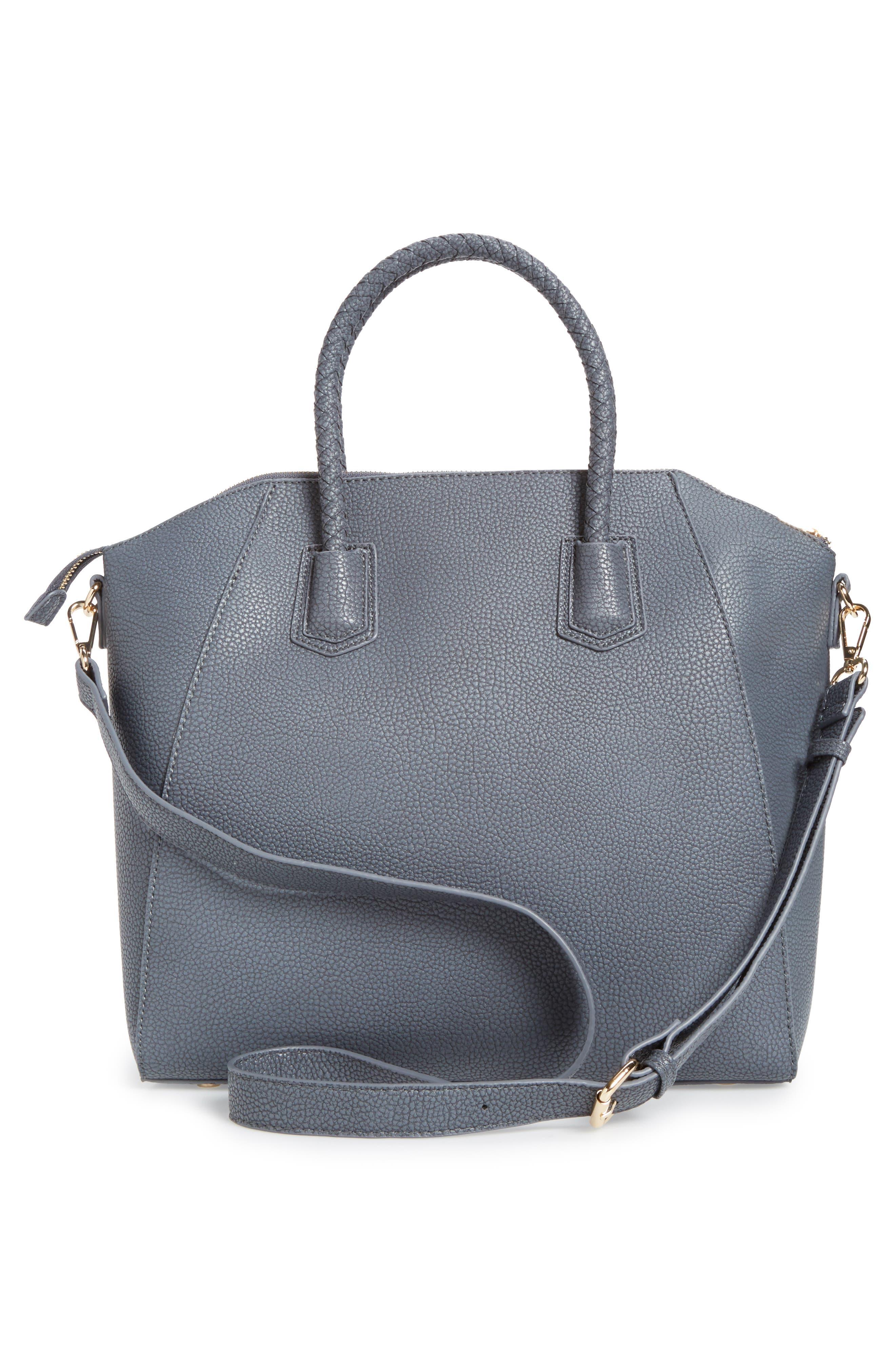 Alternate Image 3  - Sole Society Giada Braided Faux Leather Satchel