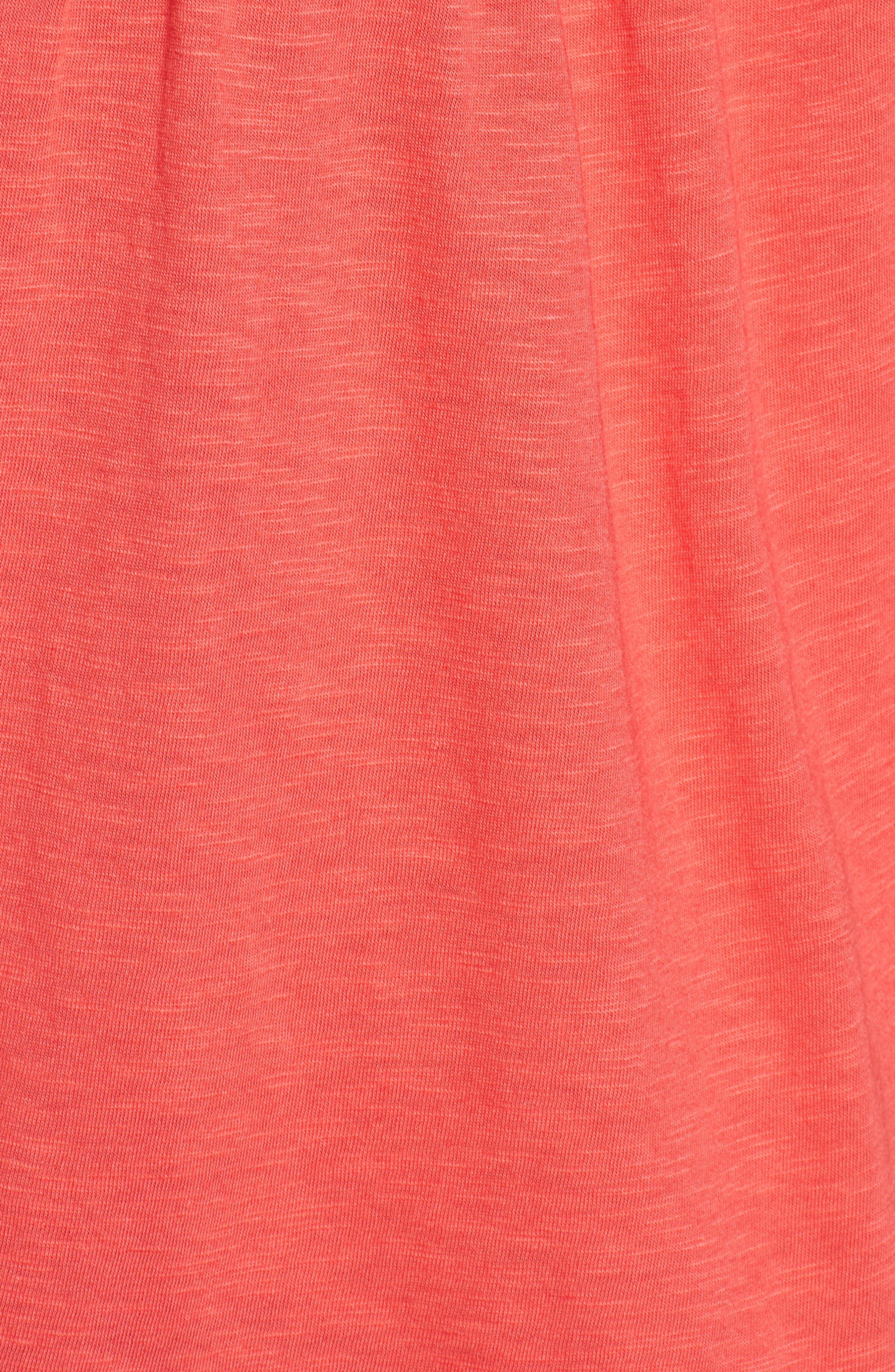 Alternate Image 5  - Caslon® Boho Lace Trim Tank (Regular & Petite)