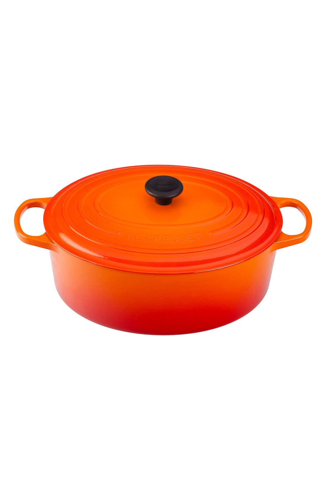 Le Creuset Signature 9 1/2 Quart Oval Enamel Cast Iron French/Dutch Oven