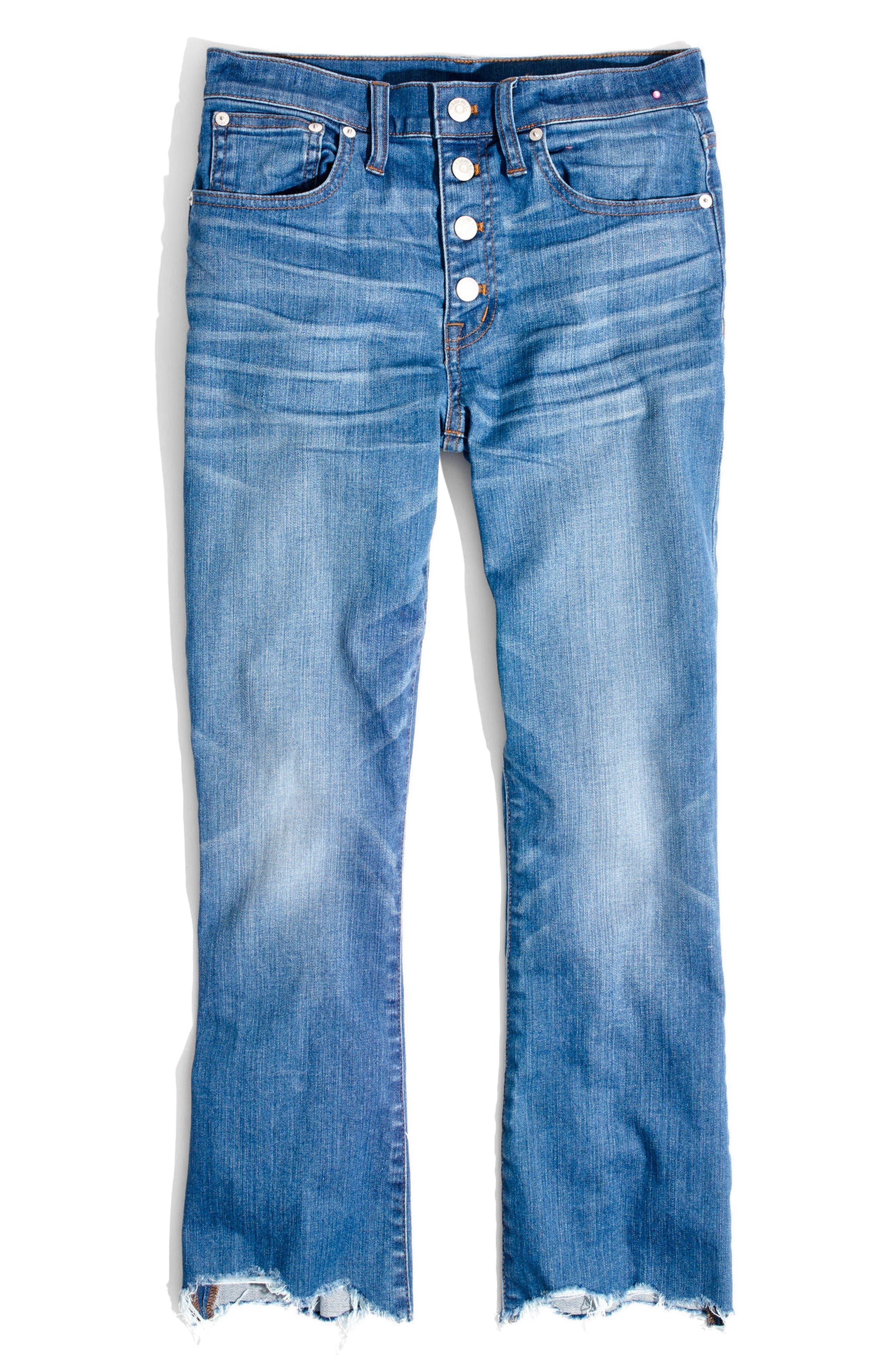 Alternate Image 2  - Madewell Cali Demi Boot Jeans (Fenton Wash)