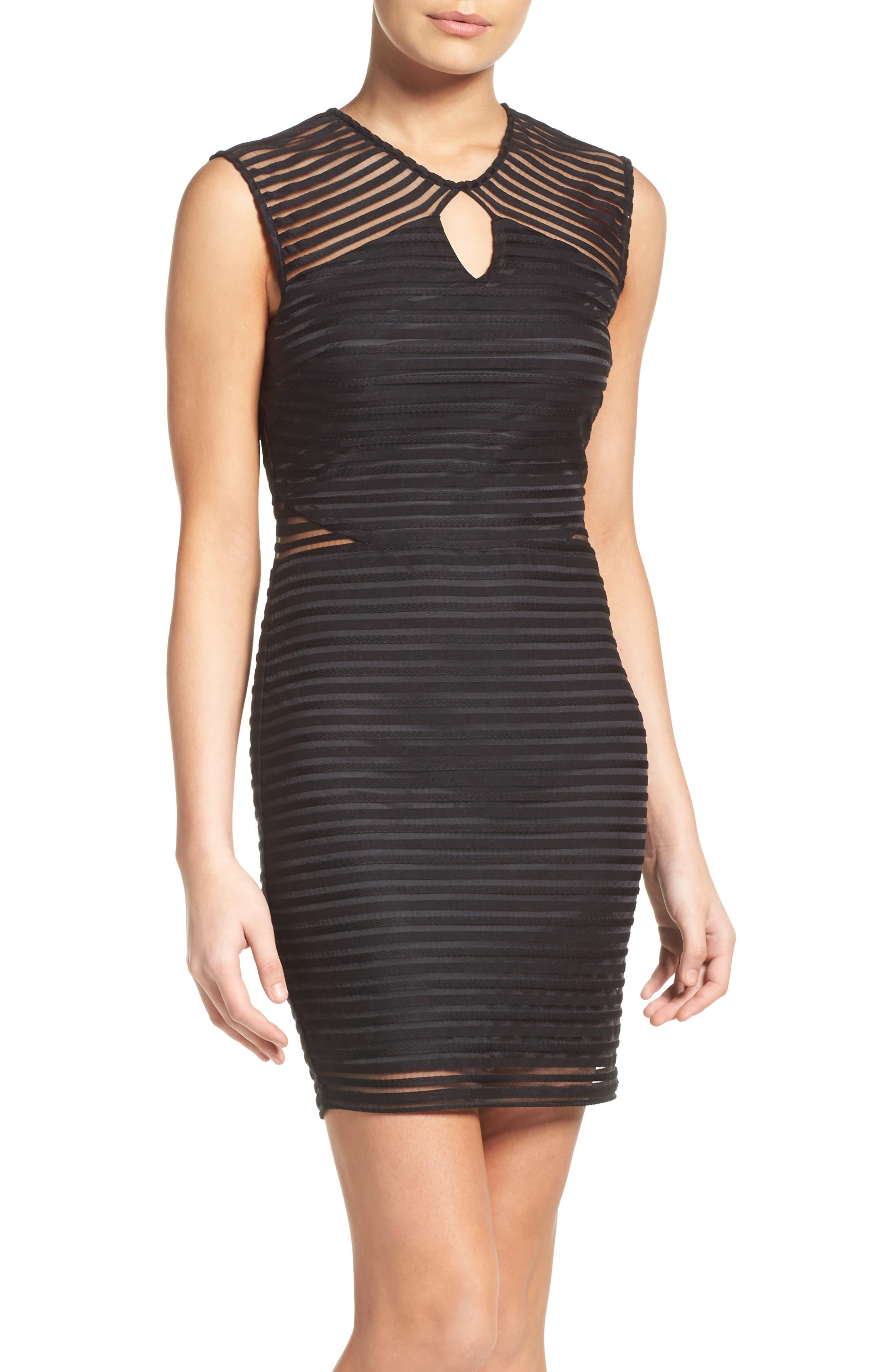ALI & JAY Shadow Stripe Minidress