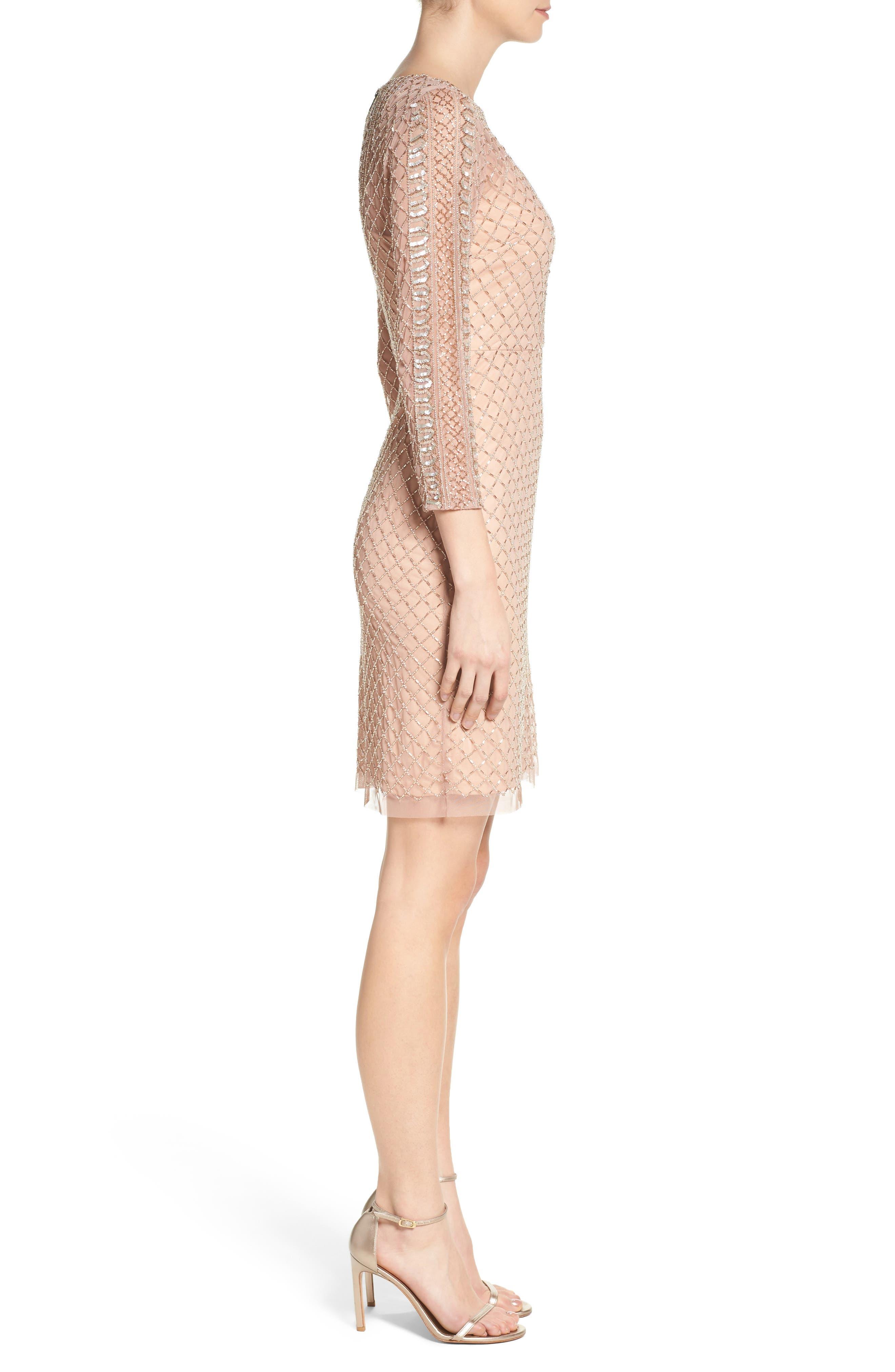 Alternate Image 3  - Adrianna Papell Sheath Dress