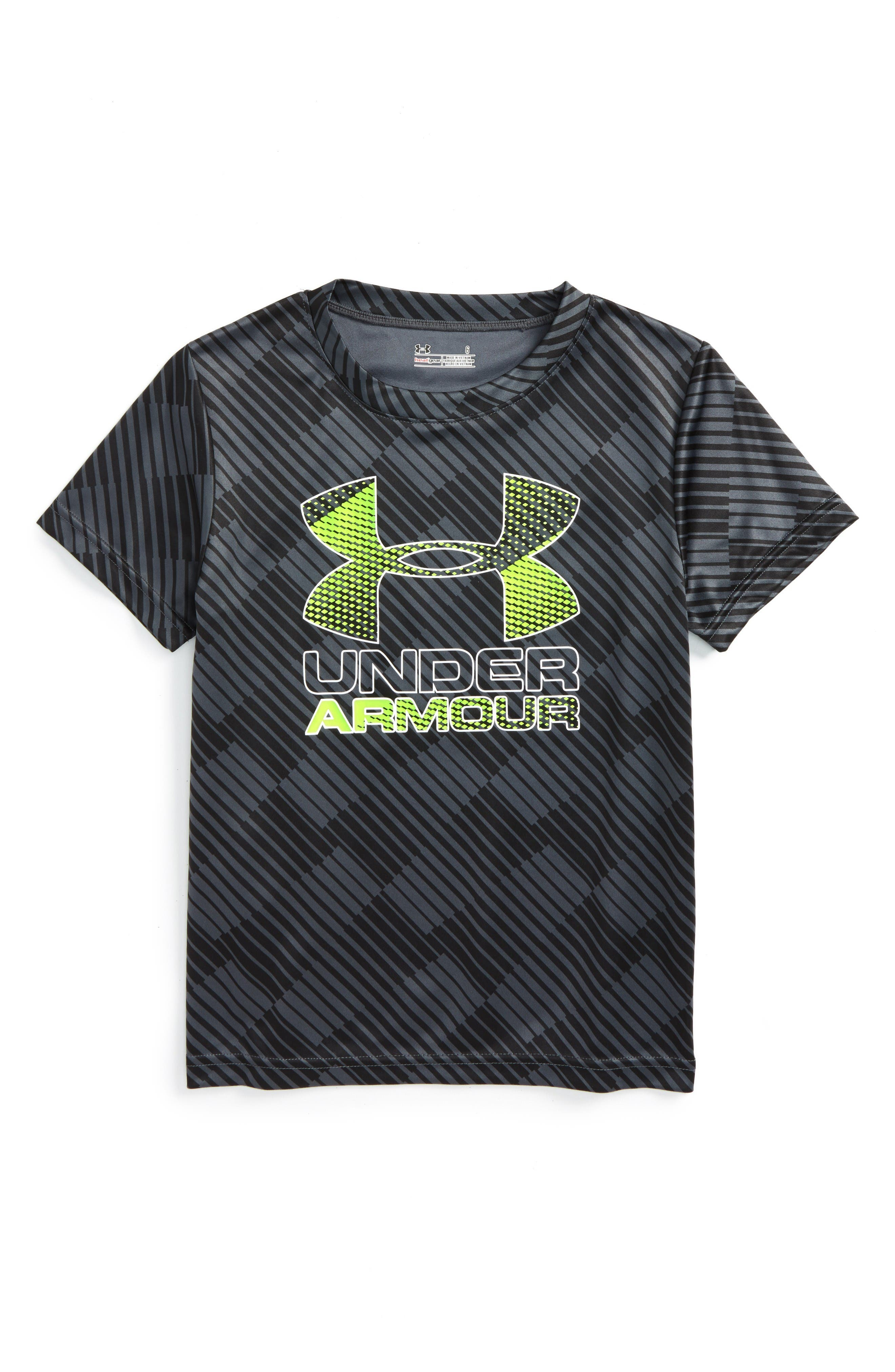 Under Armour Tilt Shift Graphic HeatGear® Shirt (Toddler Boys & Little Boys)