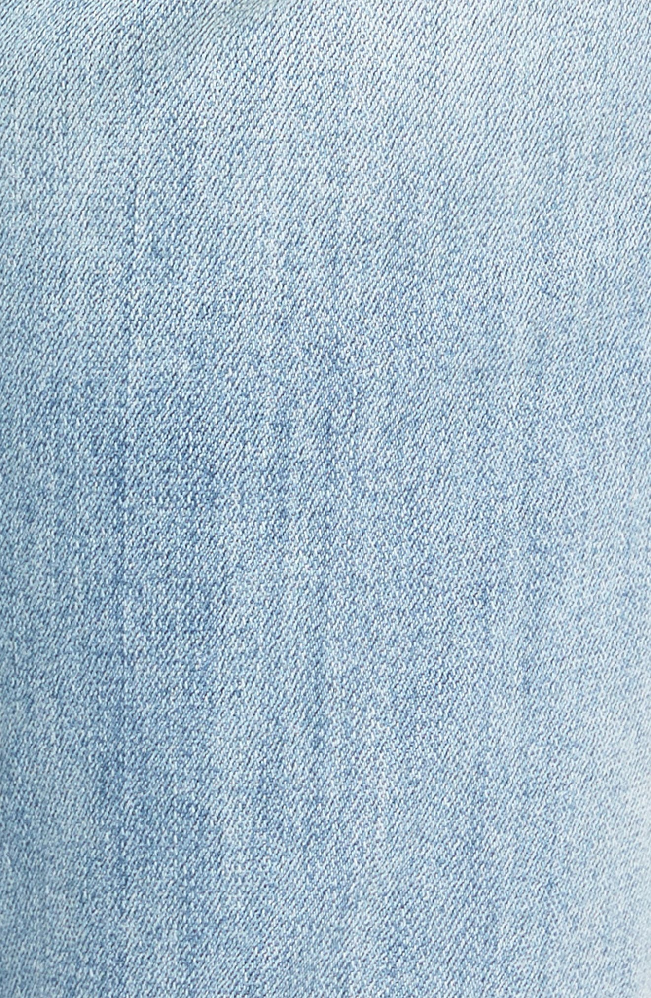 Alternate Image 5  - KUT from the Kloth Reese Stretch Ankle Straight Leg Jeans (Celebratory)