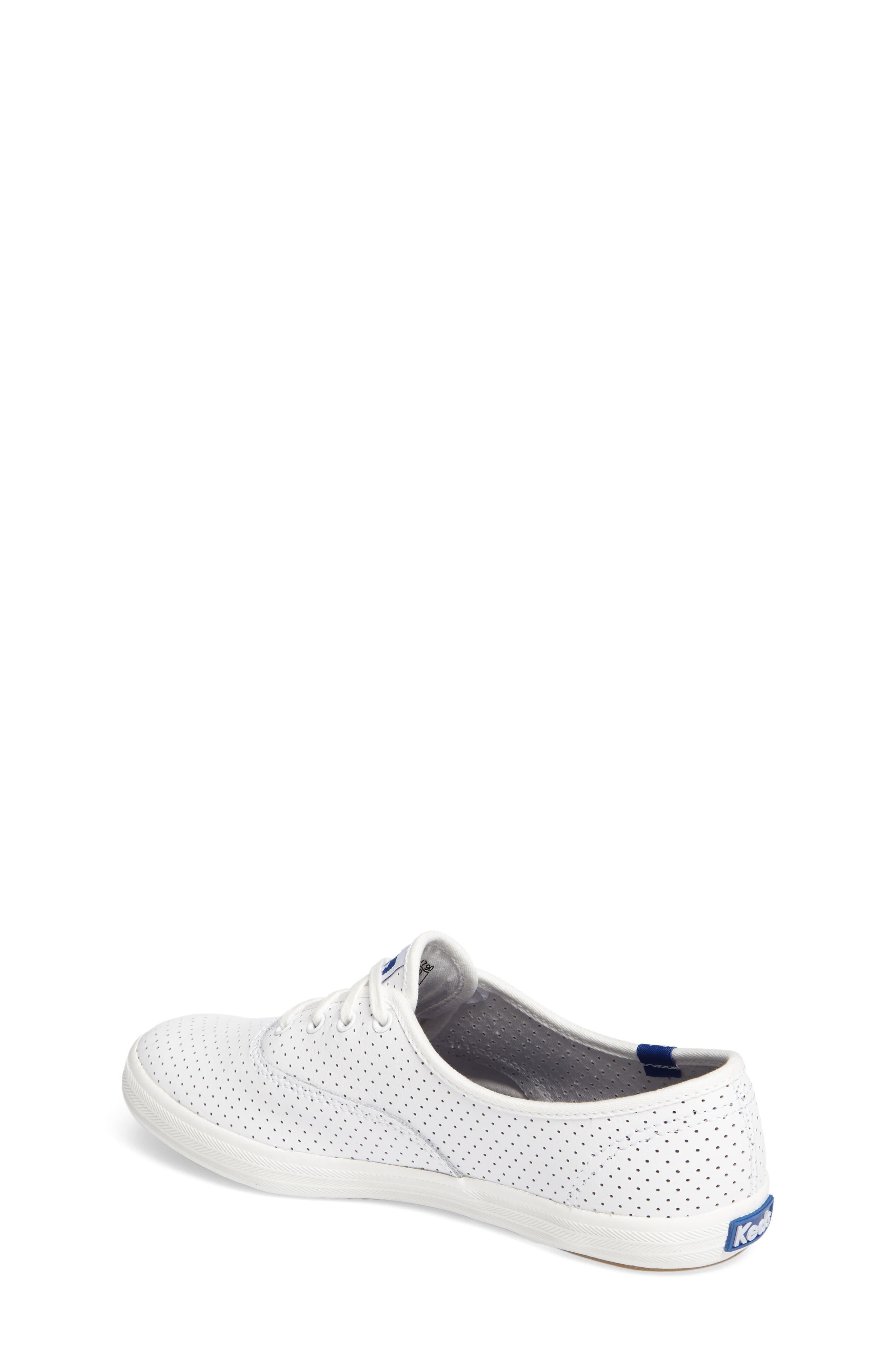 Alternate Image 2  - Keds® Champion Perforated Sneaker (Women)