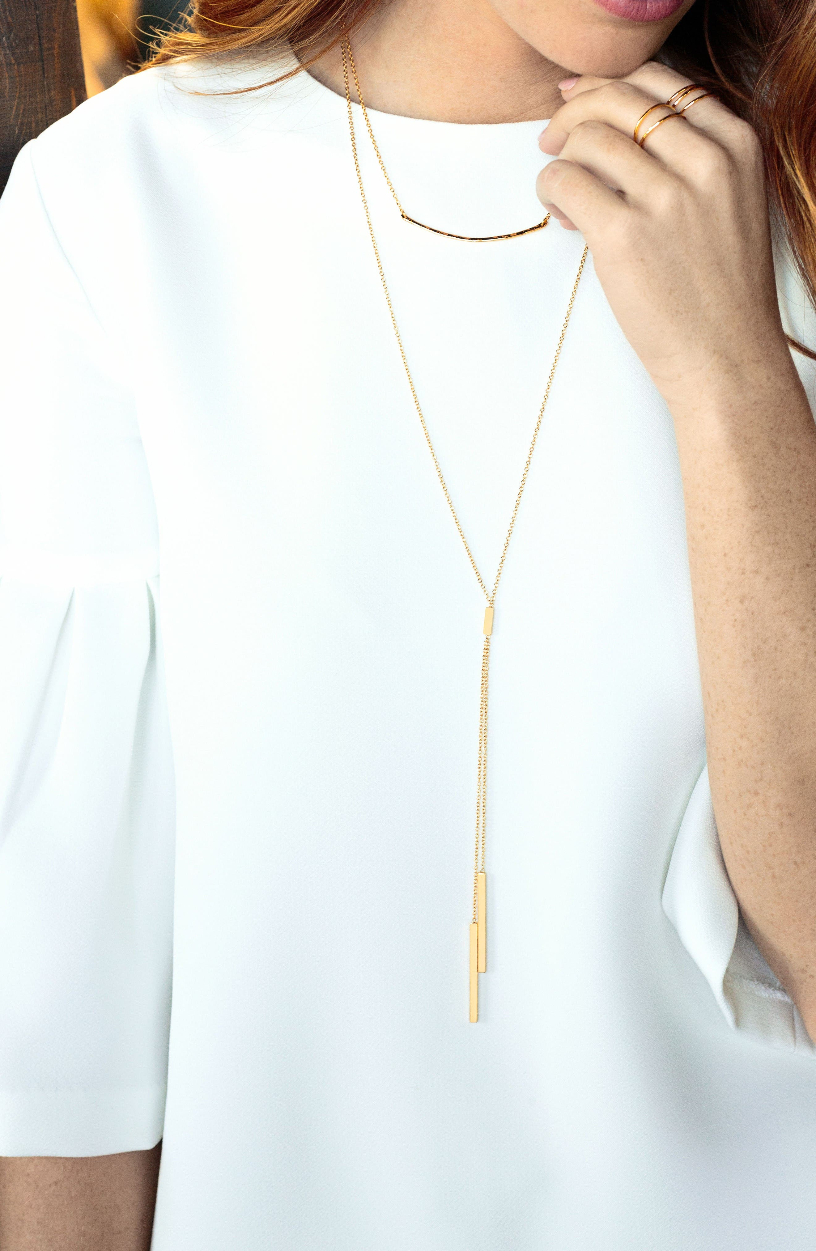 Alternate Image 5  - gorjana 'Mave' Lariat Necklace