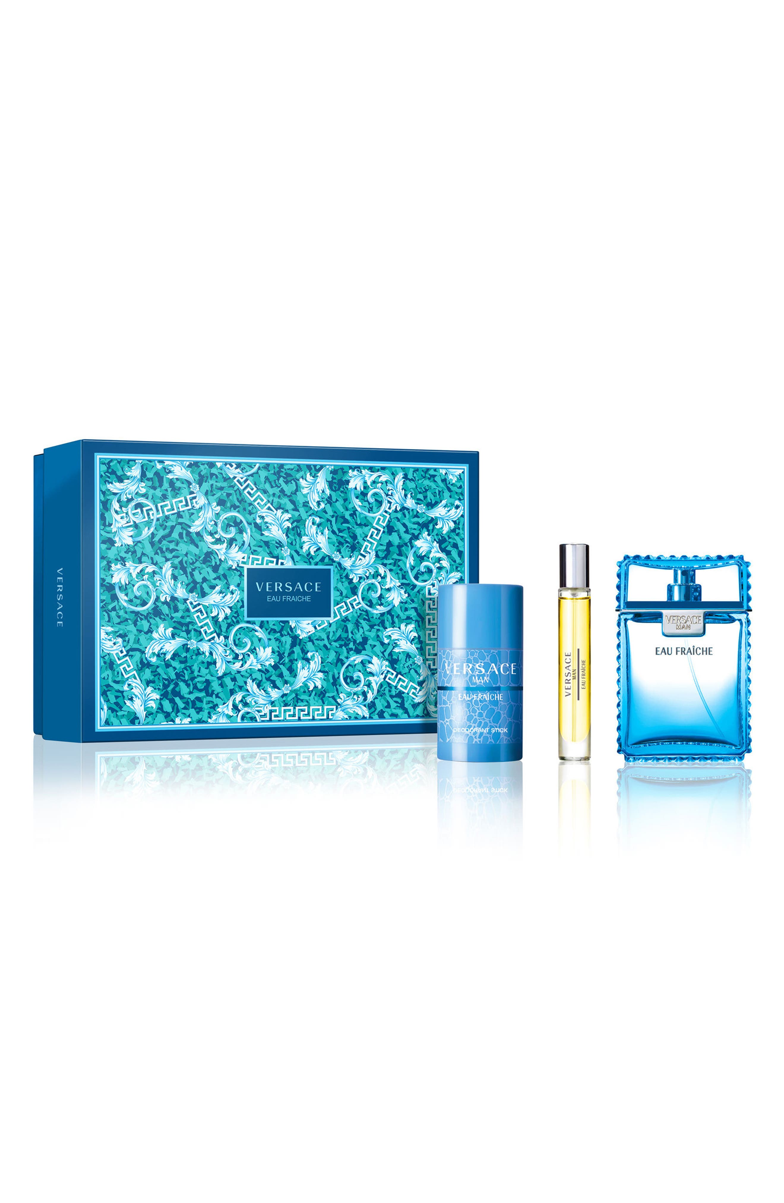 Versace Man Eau Fraîche Set ($124 Value)