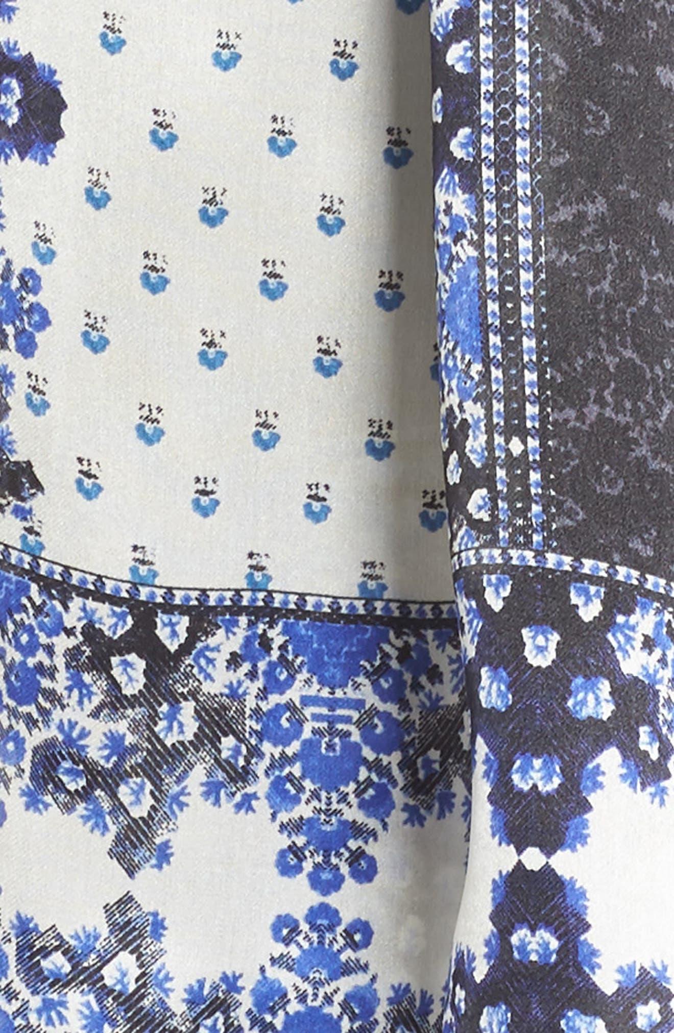 Alternate Image 3  - Vince Camuto Floral Silk Scarf