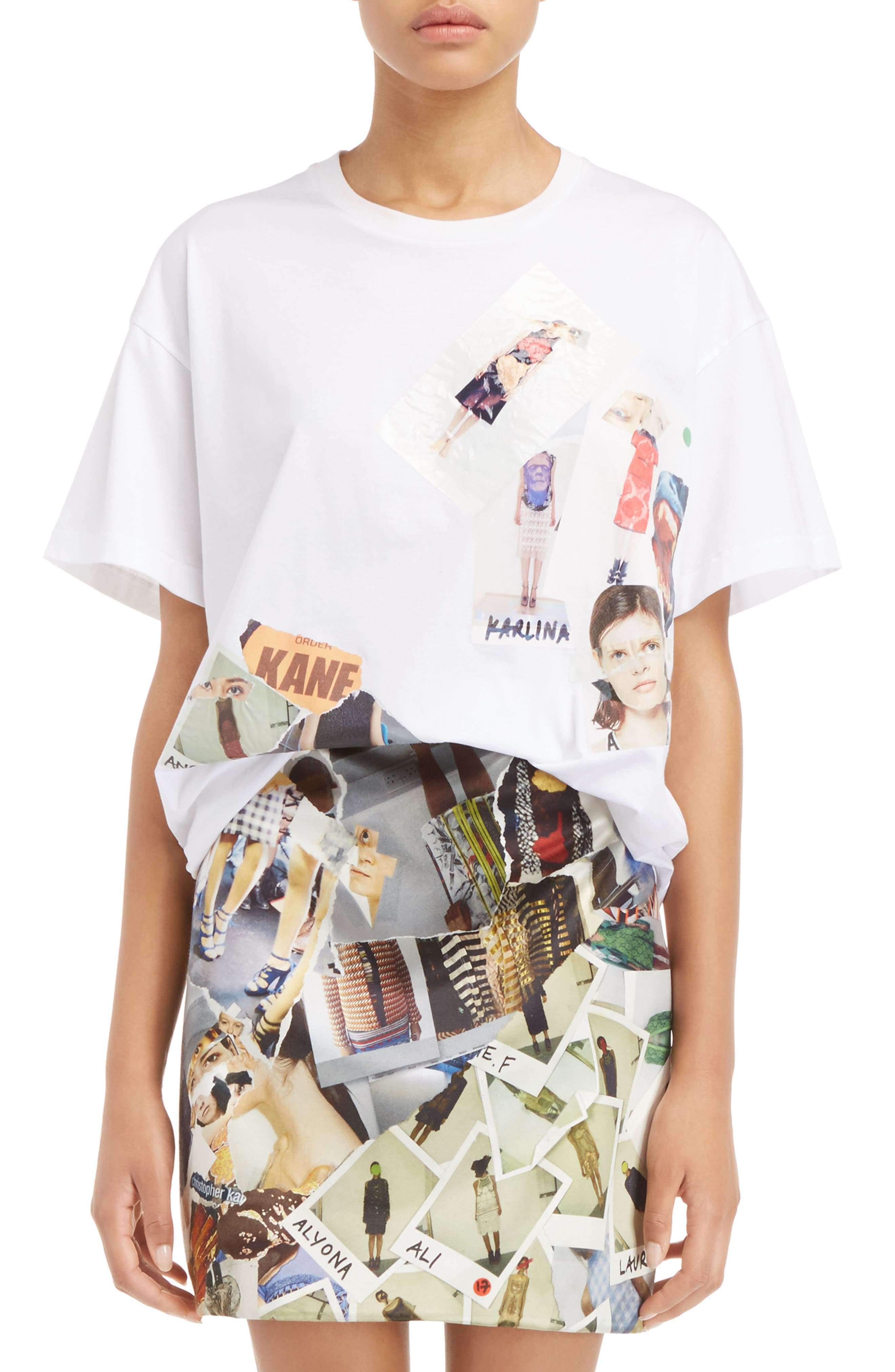 CHRISTOPHER KANE Boyfriend Transfer Tee