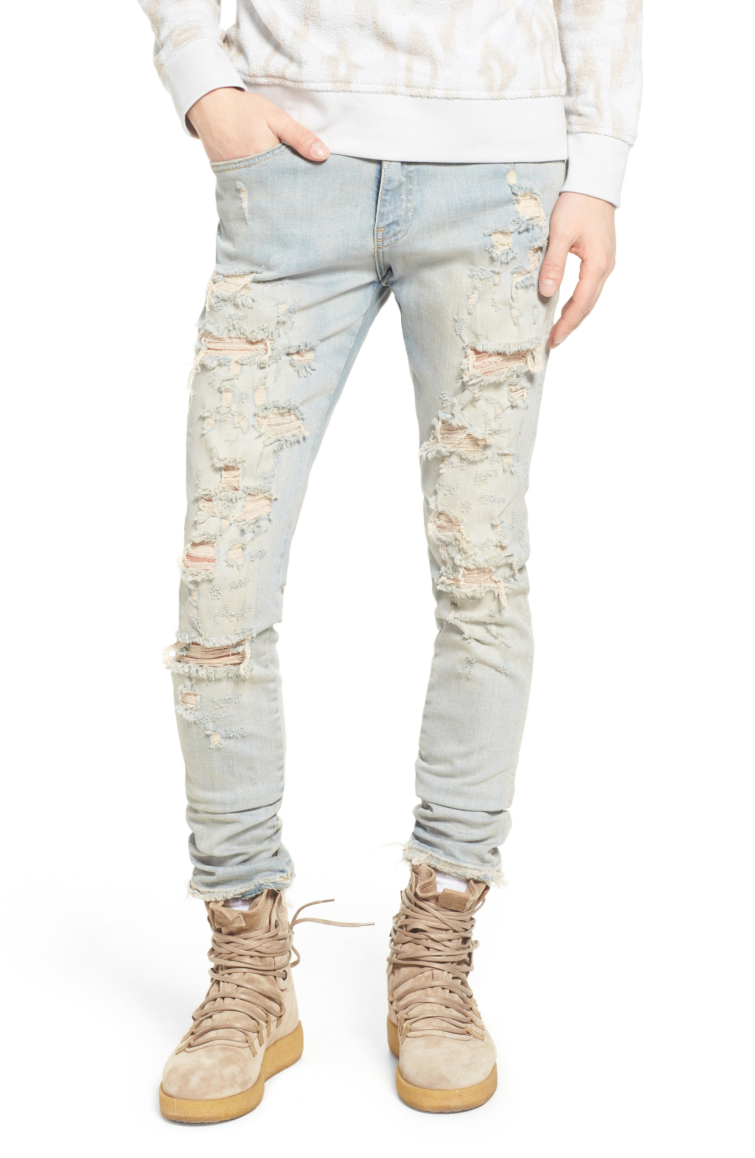 Represent Destroyer Skinny Fit Jeans