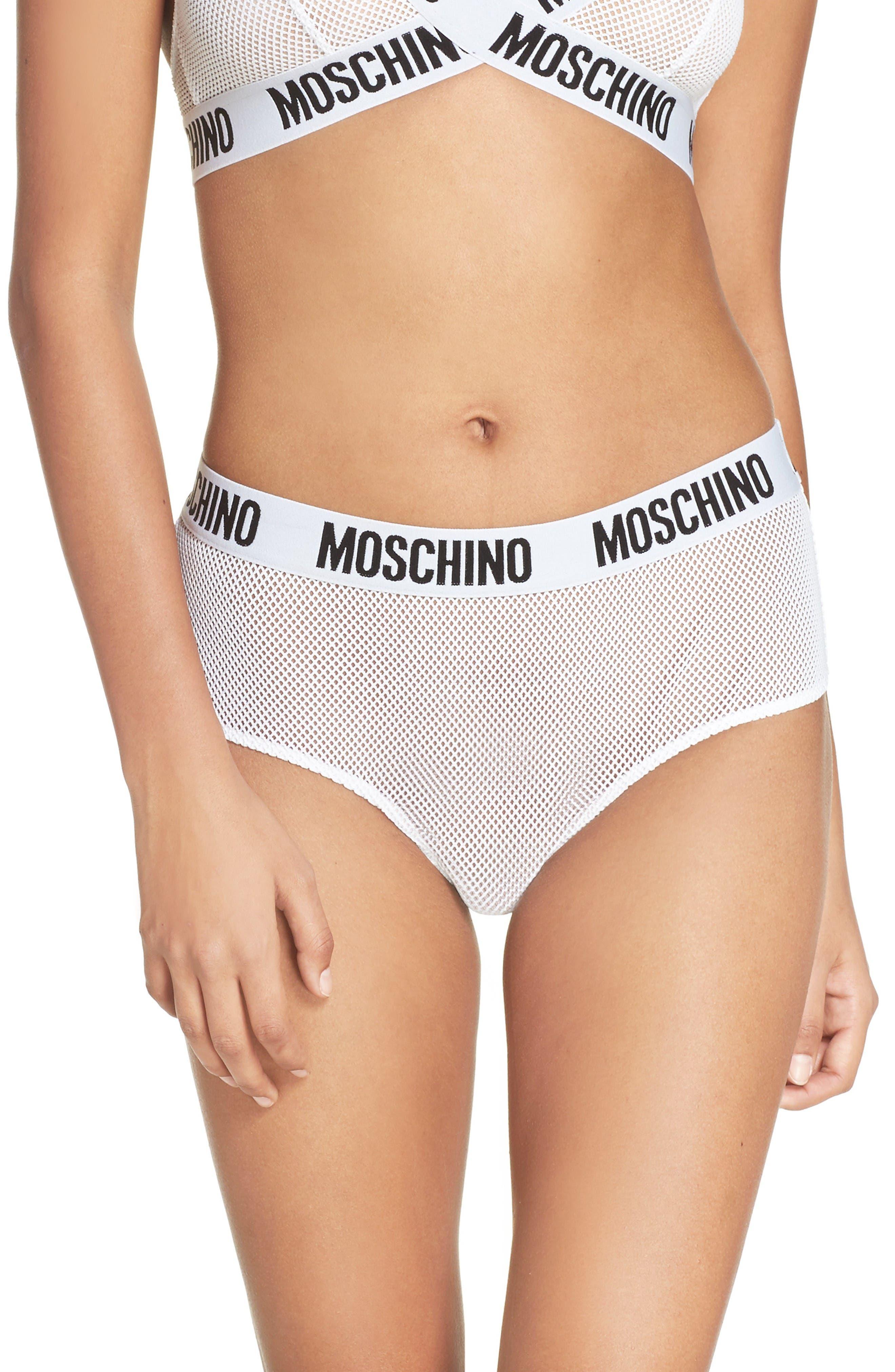 Moschino Mesh Logo Briefs