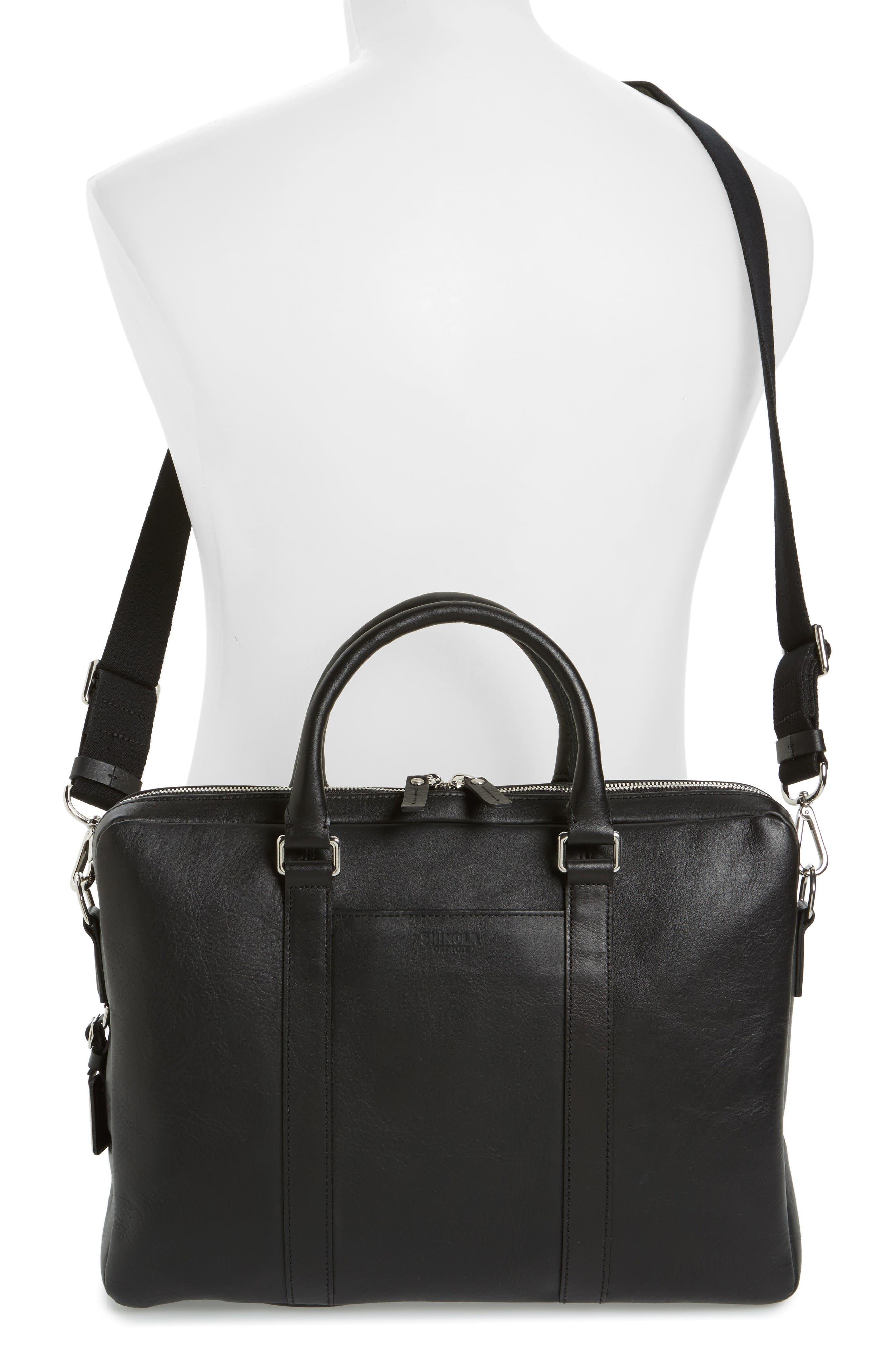 Alternate Image 2  - Shinola Signature Leather Briefcase