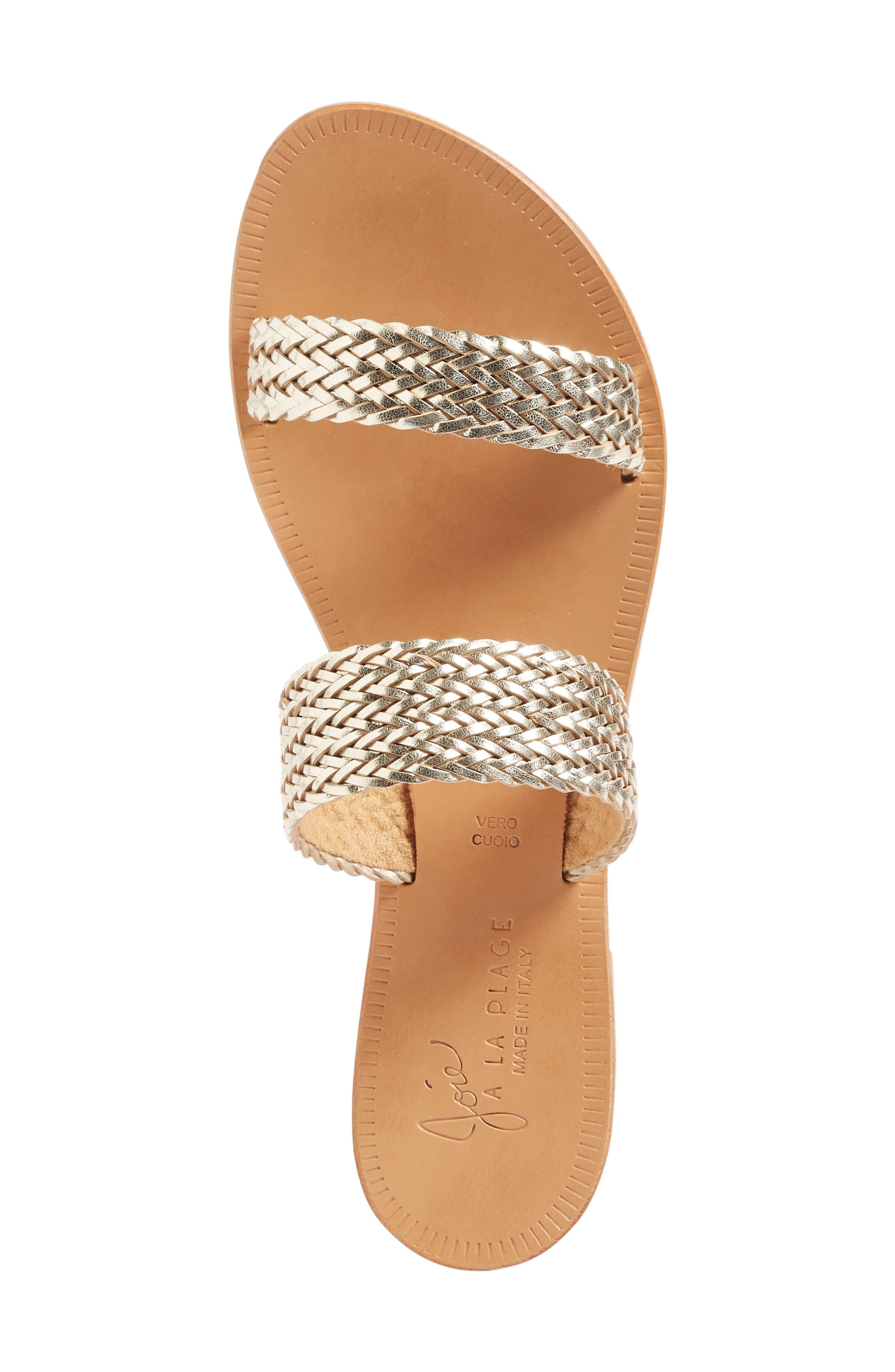 Alternate Image 3  - Joie a la Plage 'Sable' Leather Slip-On Sandal (Women)