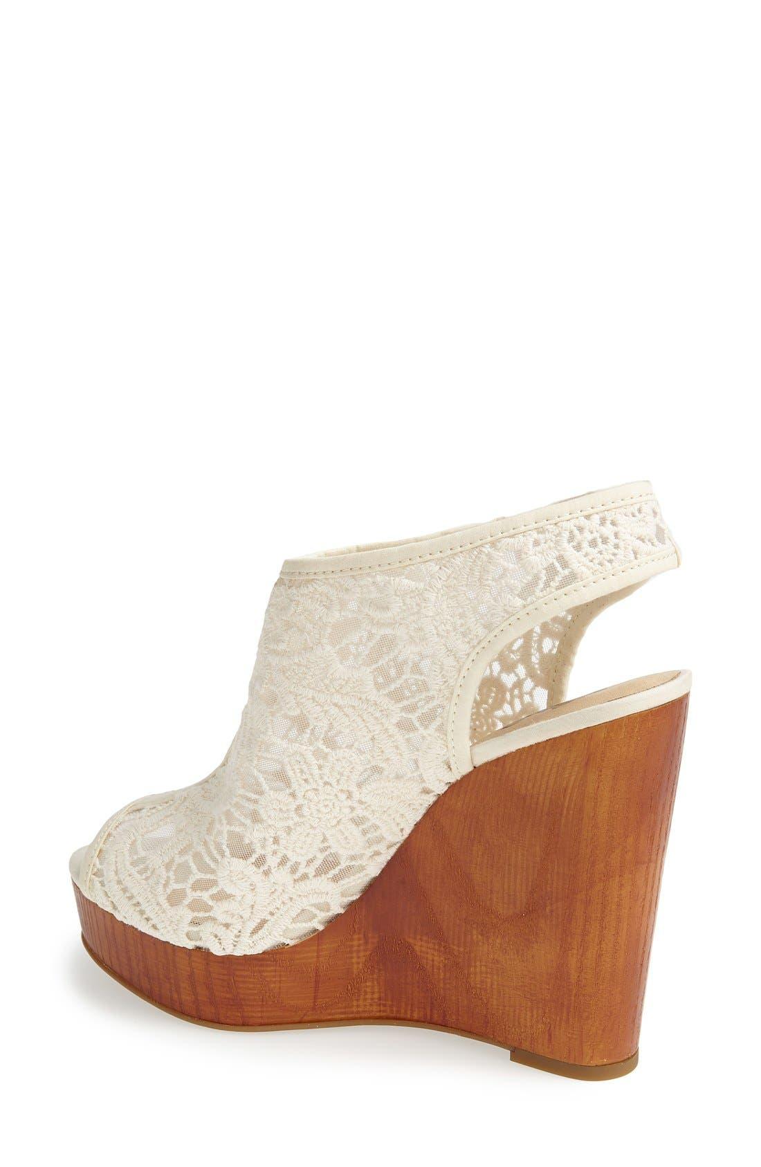 Alternate Image 2  - Lucky Brand 'Rezdah' Wedge Platform Sandal (Women)