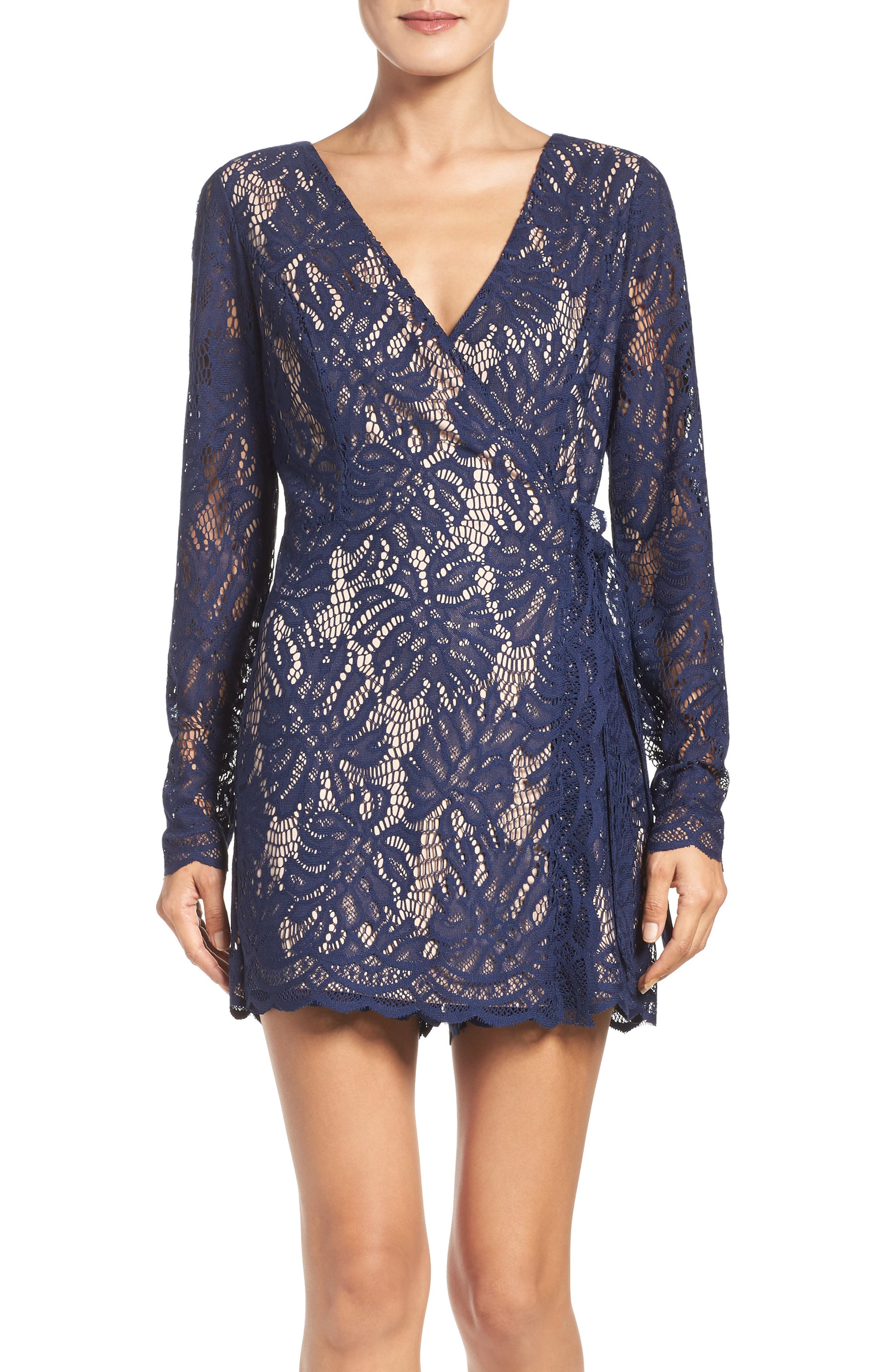 LILLY PULITZER® Tiki Lace Romper