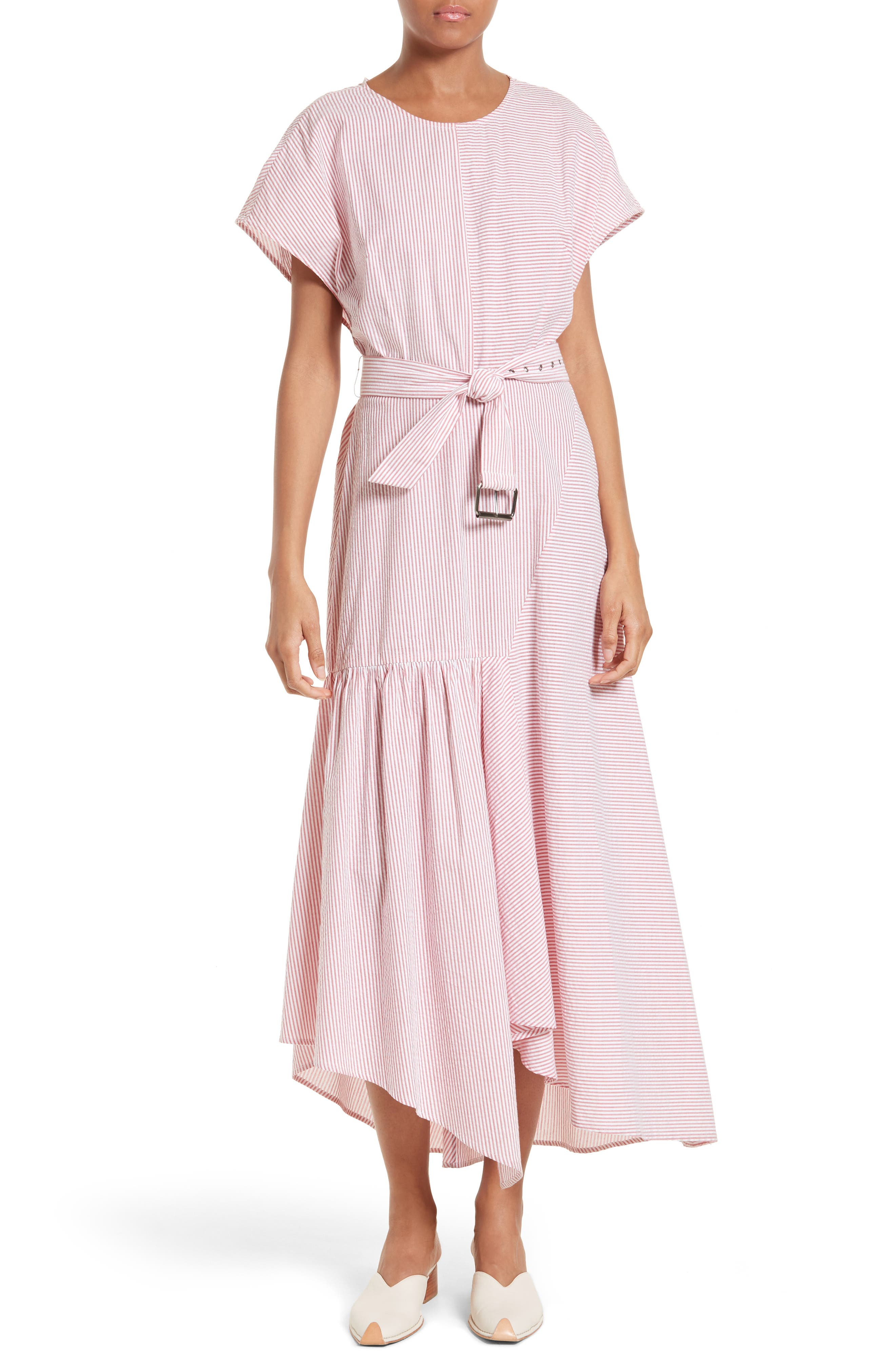 Rachel Comey Steady Seersucker Maxi Dress
