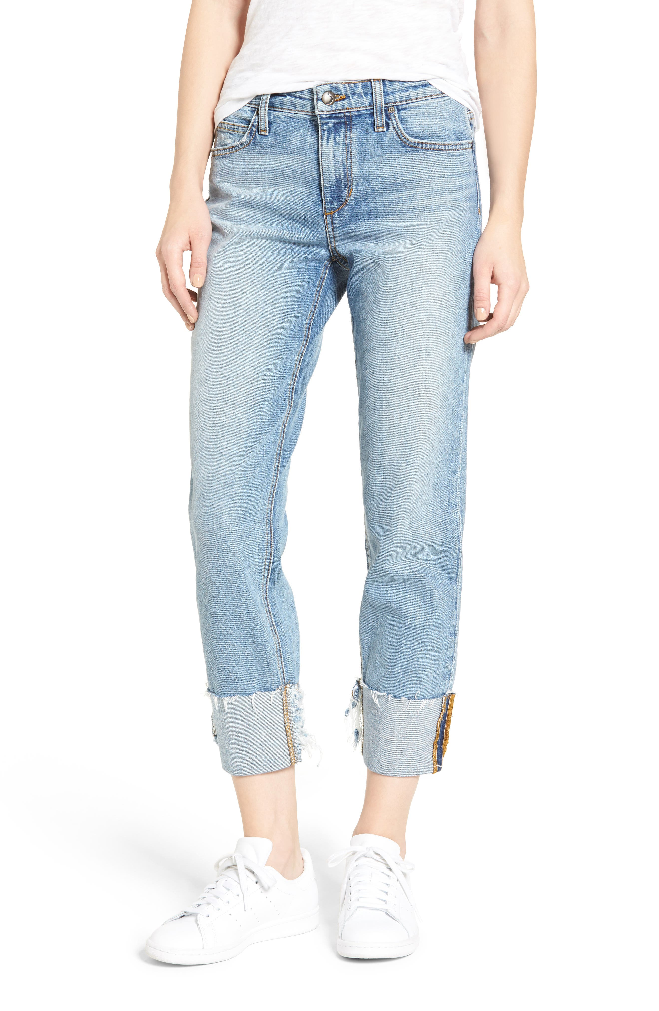 Joe's Collector's - The Smith Relaxed Crop Jeans (Prita)