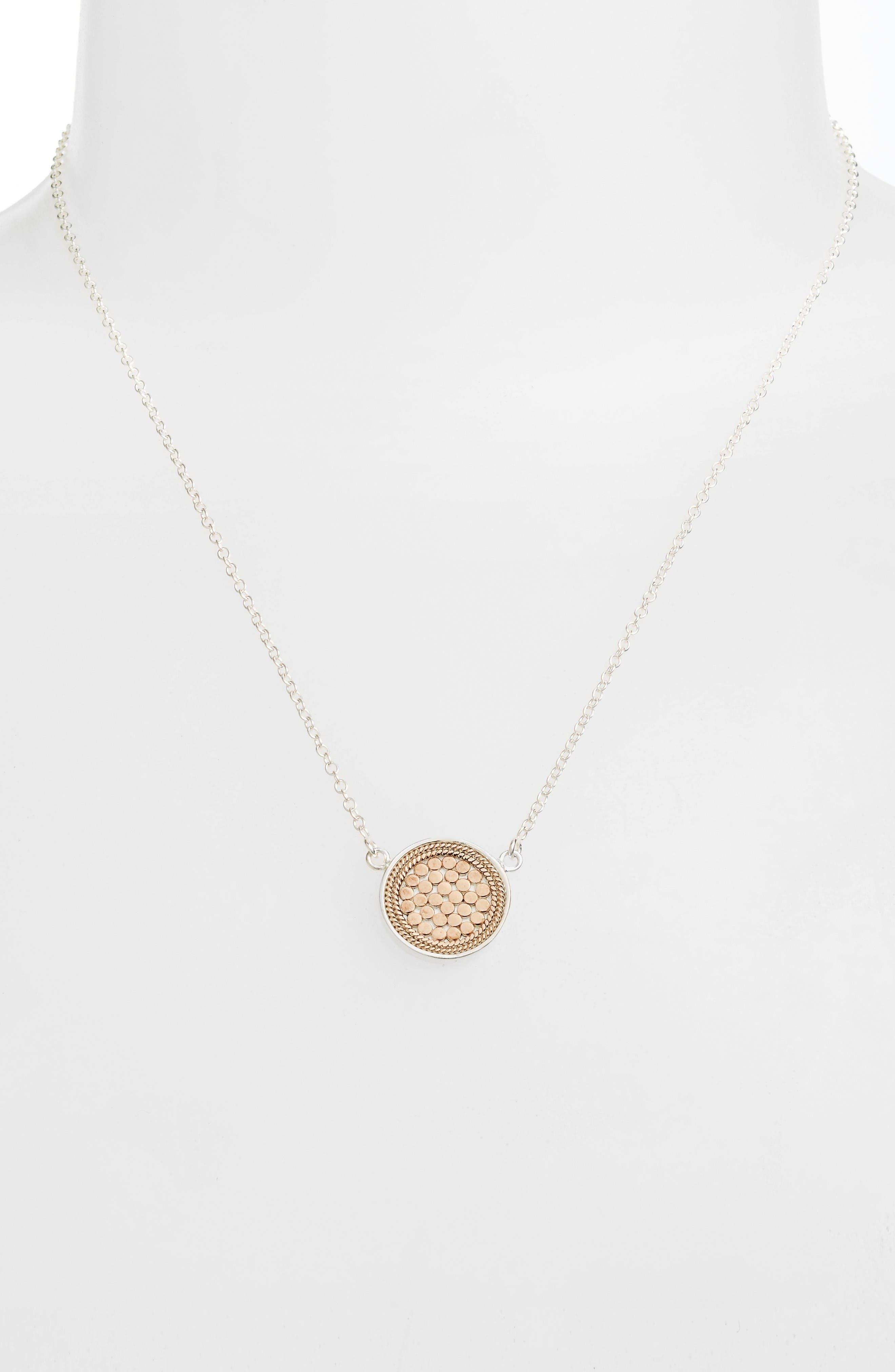 Alternate Image 2  - Anna Beck Gili Reversible Disc Pendant Necklace