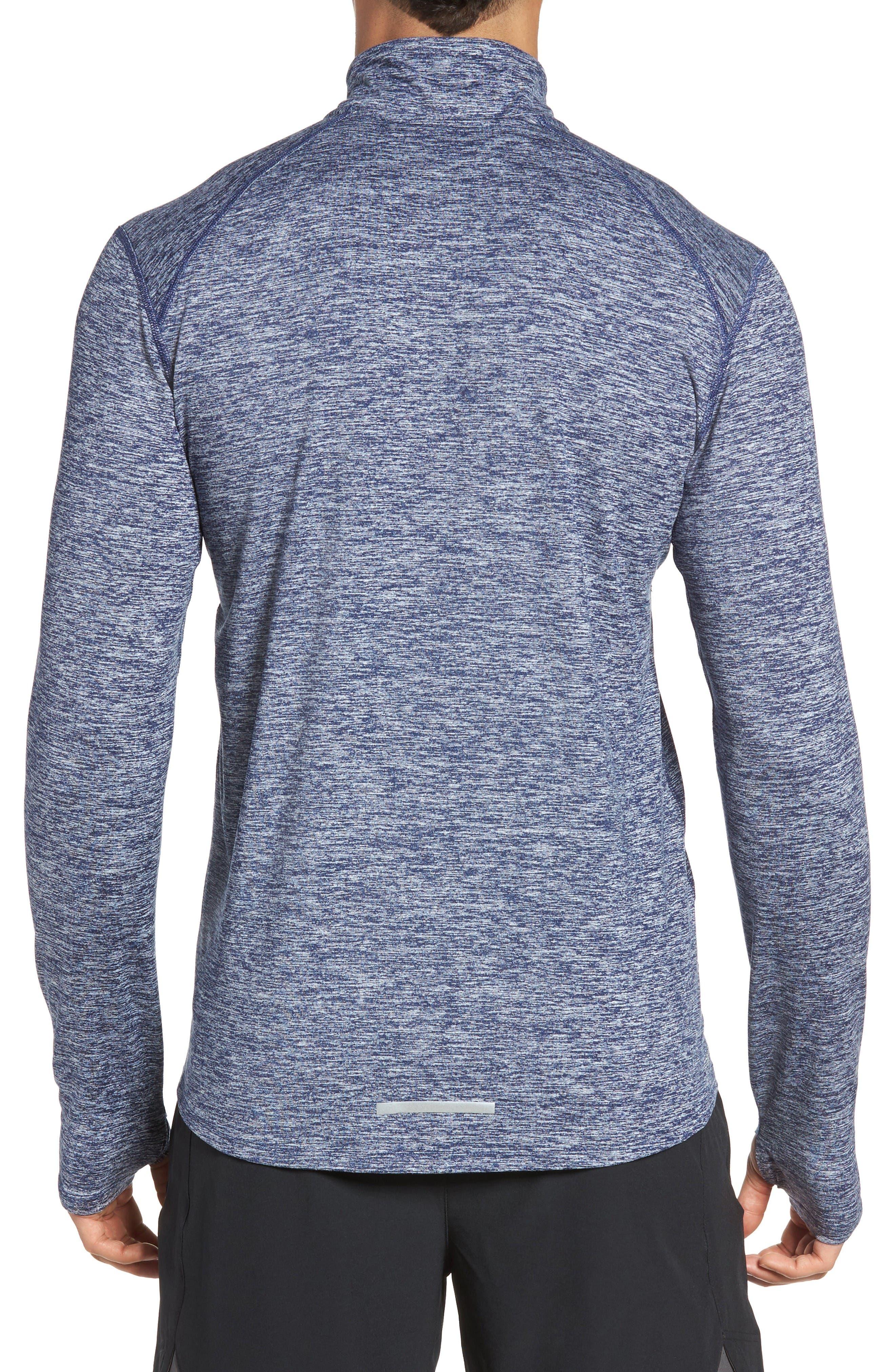 Alternate Image 2  - Nike 'Element' Dri-FIT Quarter Zip Running Top
