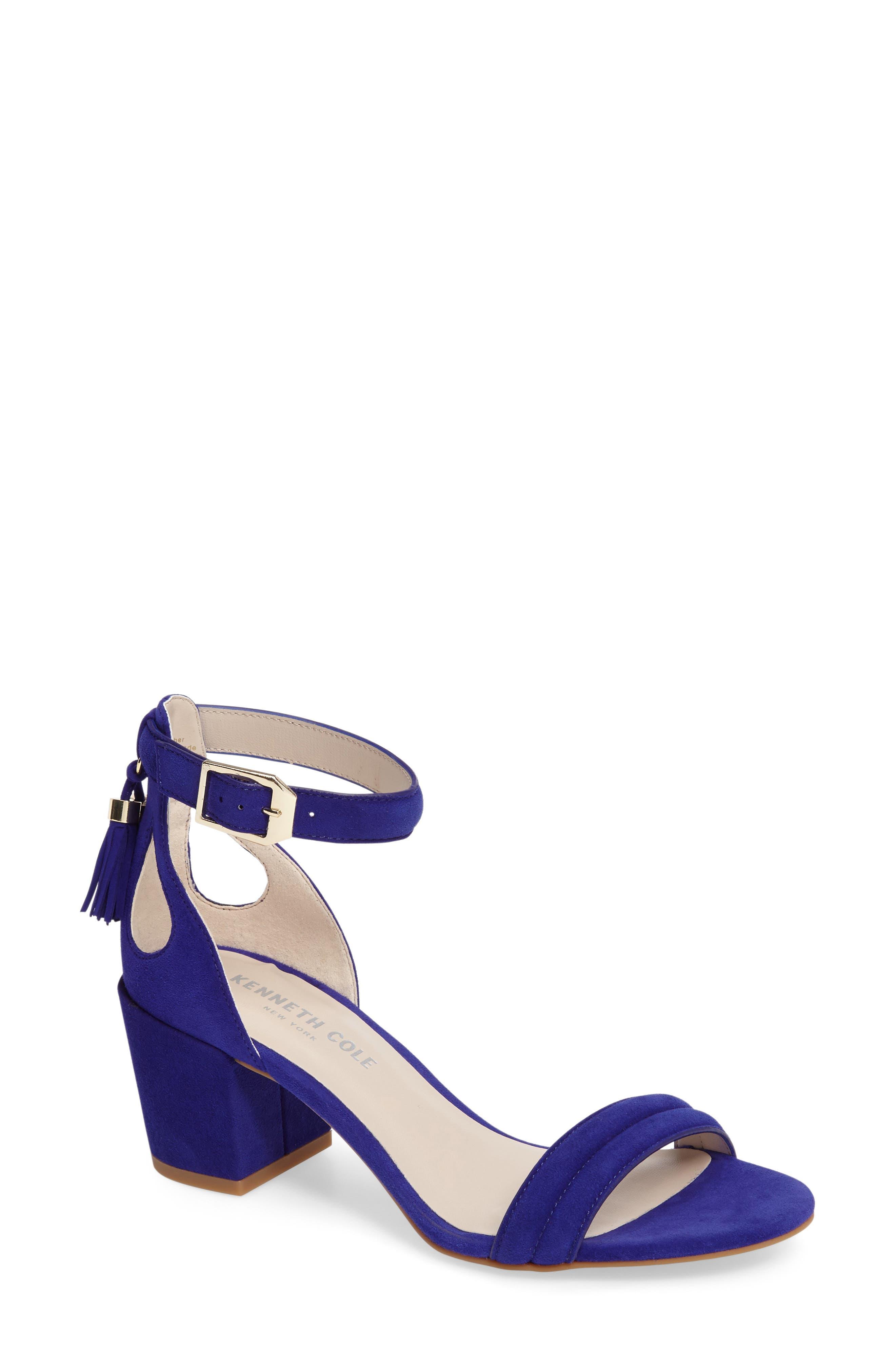 Alternate Image 1 Selected - Kenneth Cole Harriet Ankle Strap Sandal (Women)