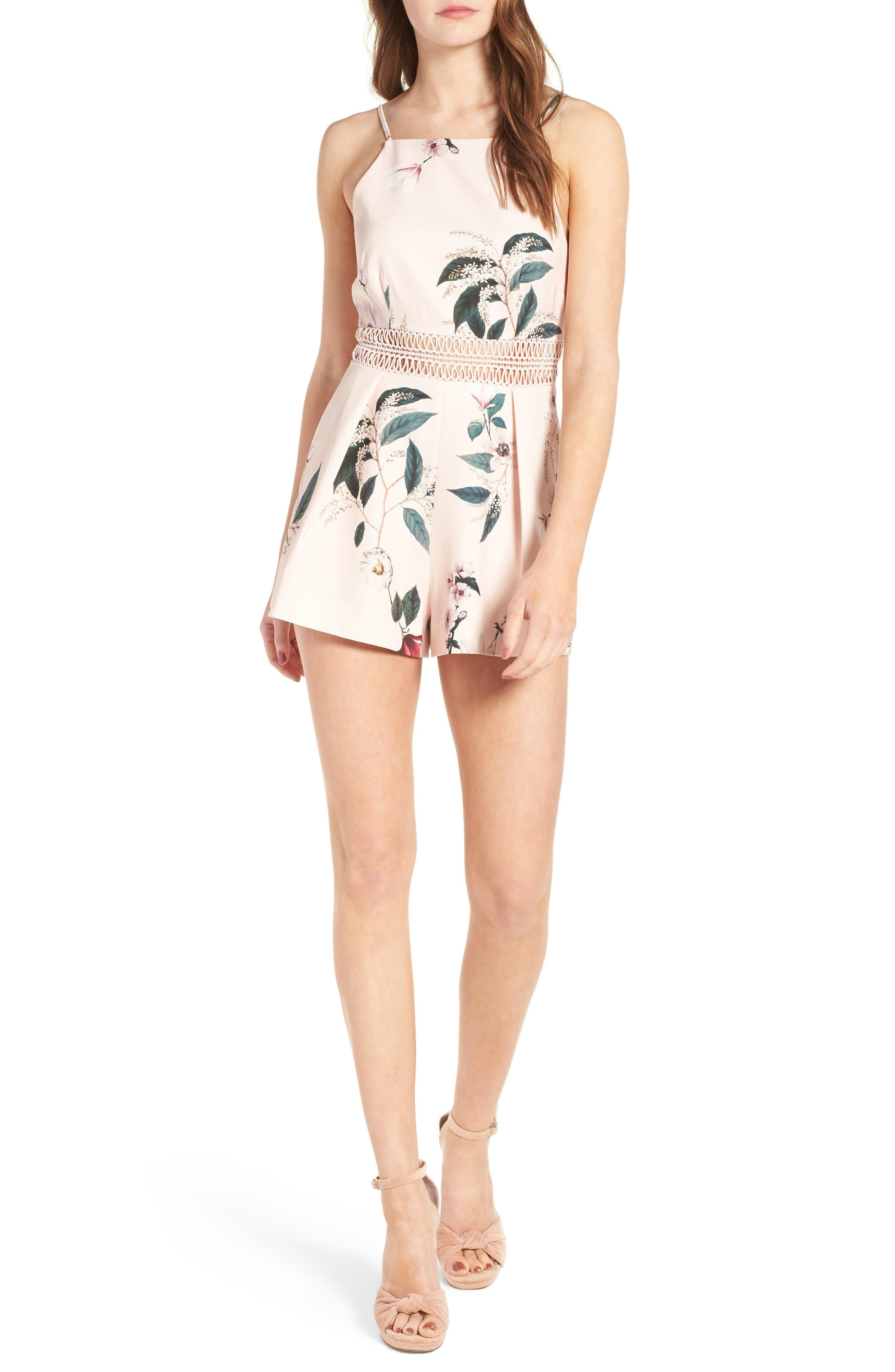 Main Image - Keepsake the Label Do It Right Romper