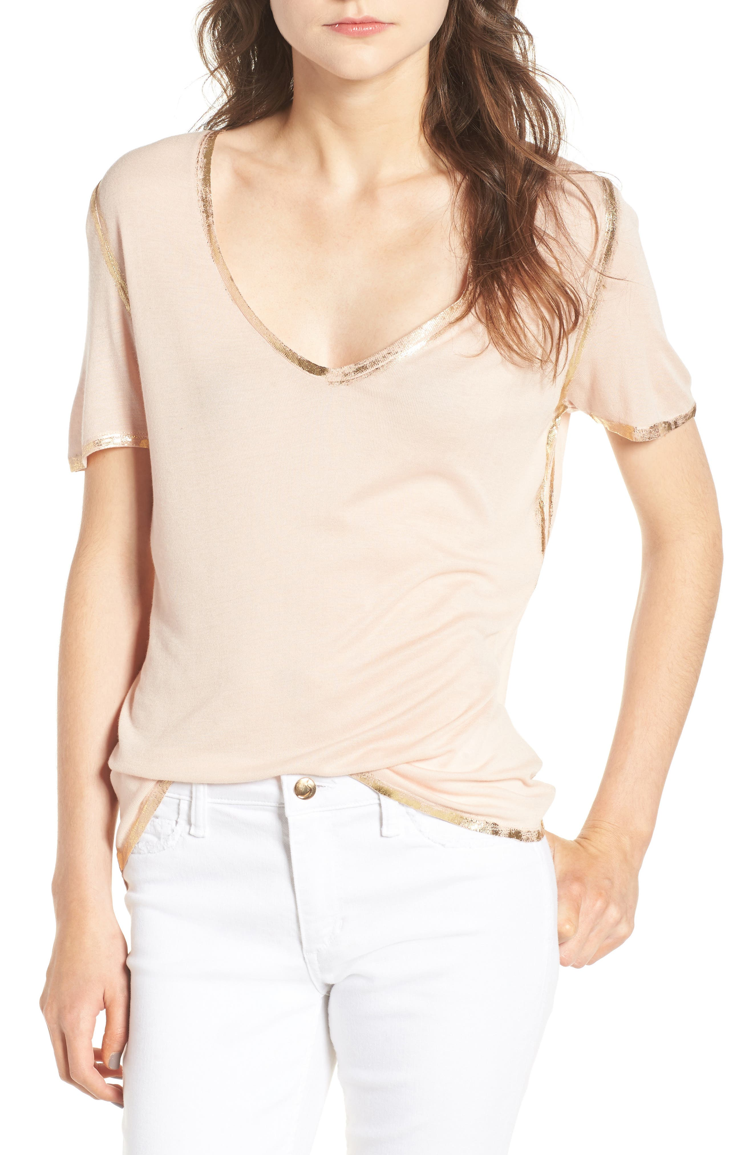Zadig & Voltaire Tino Foil Trim Tee