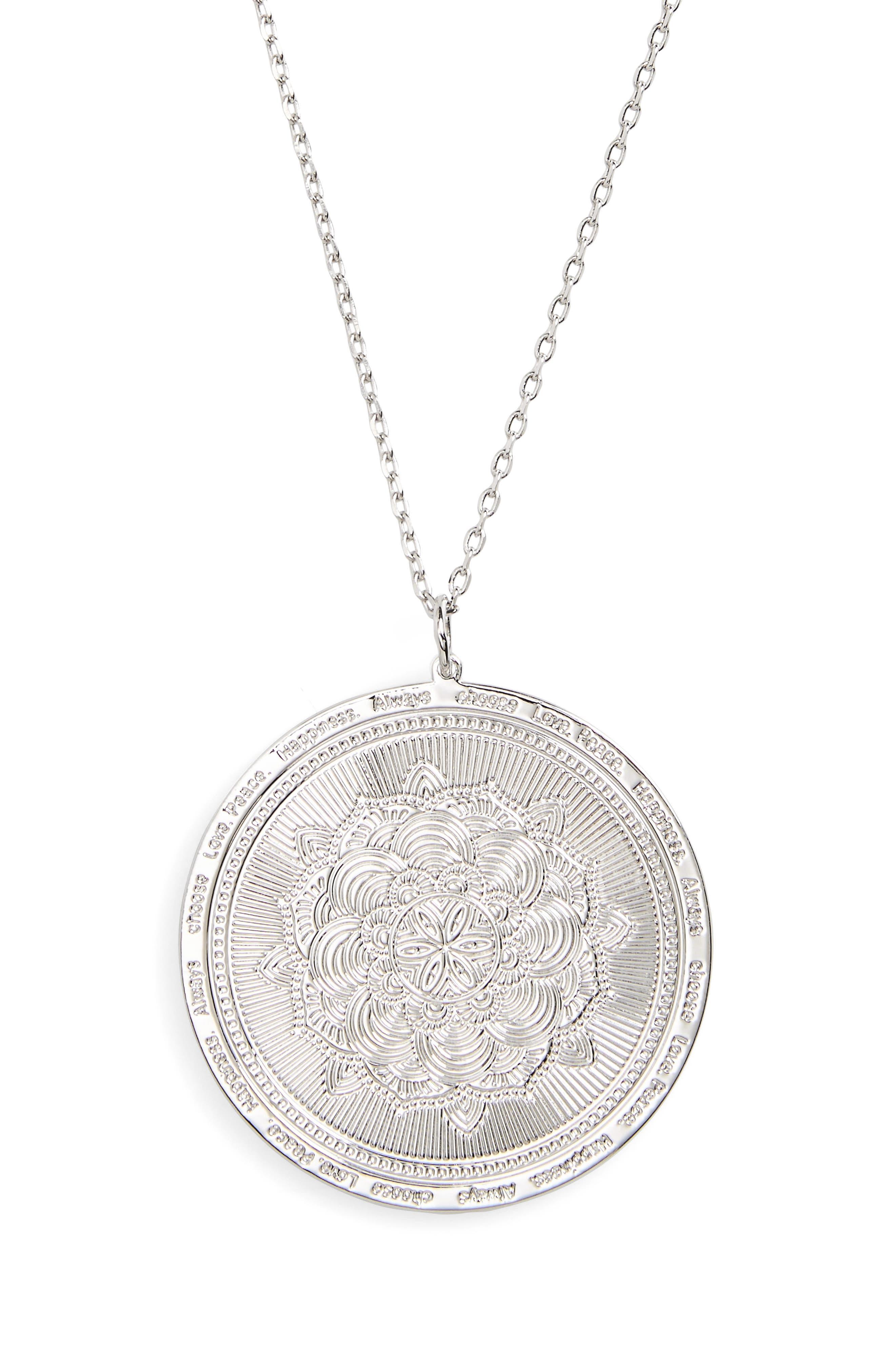 LULU DK Always Choose Love Pendant Necklace