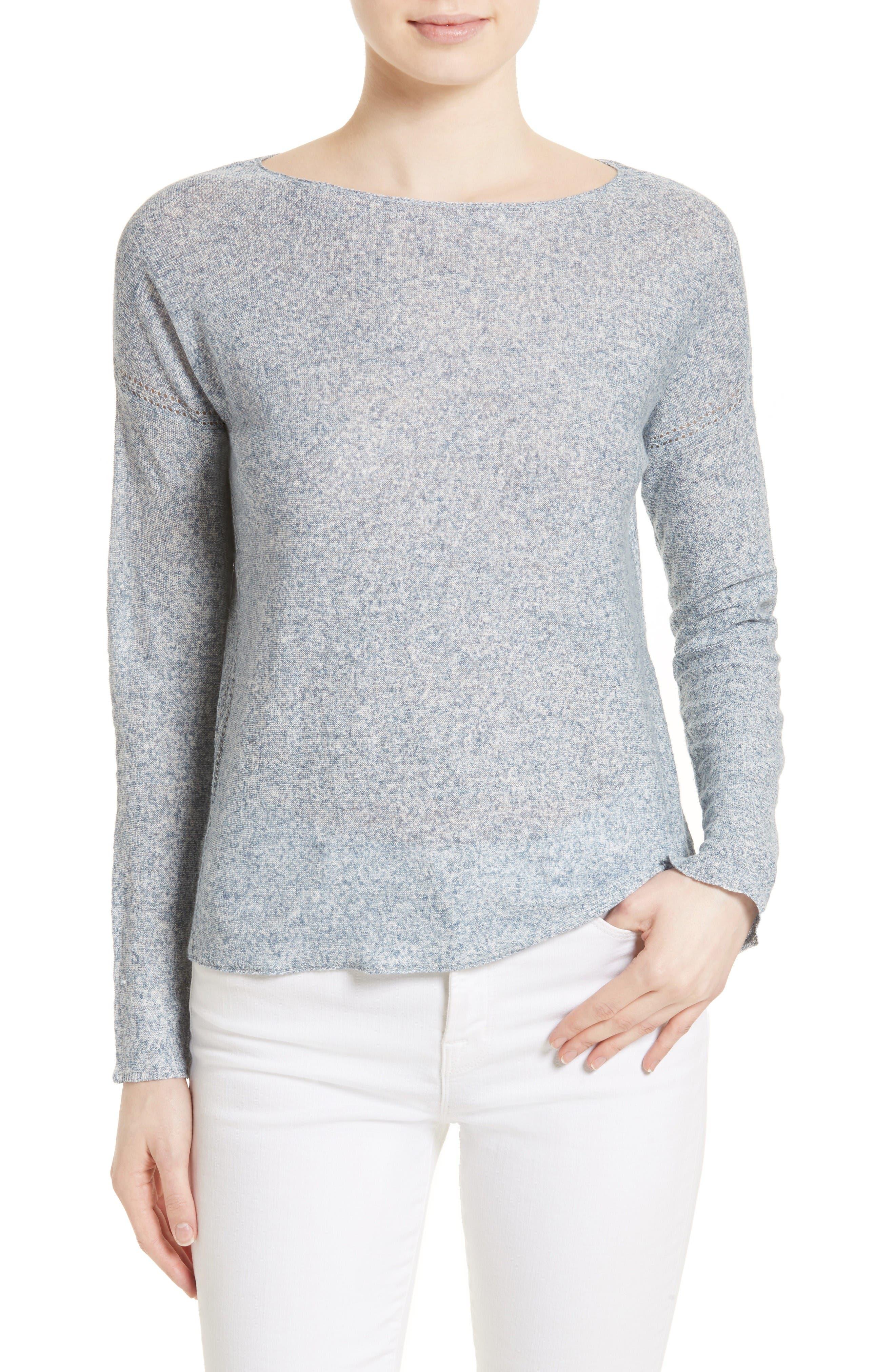 Joie Adeleh Linen Pullover