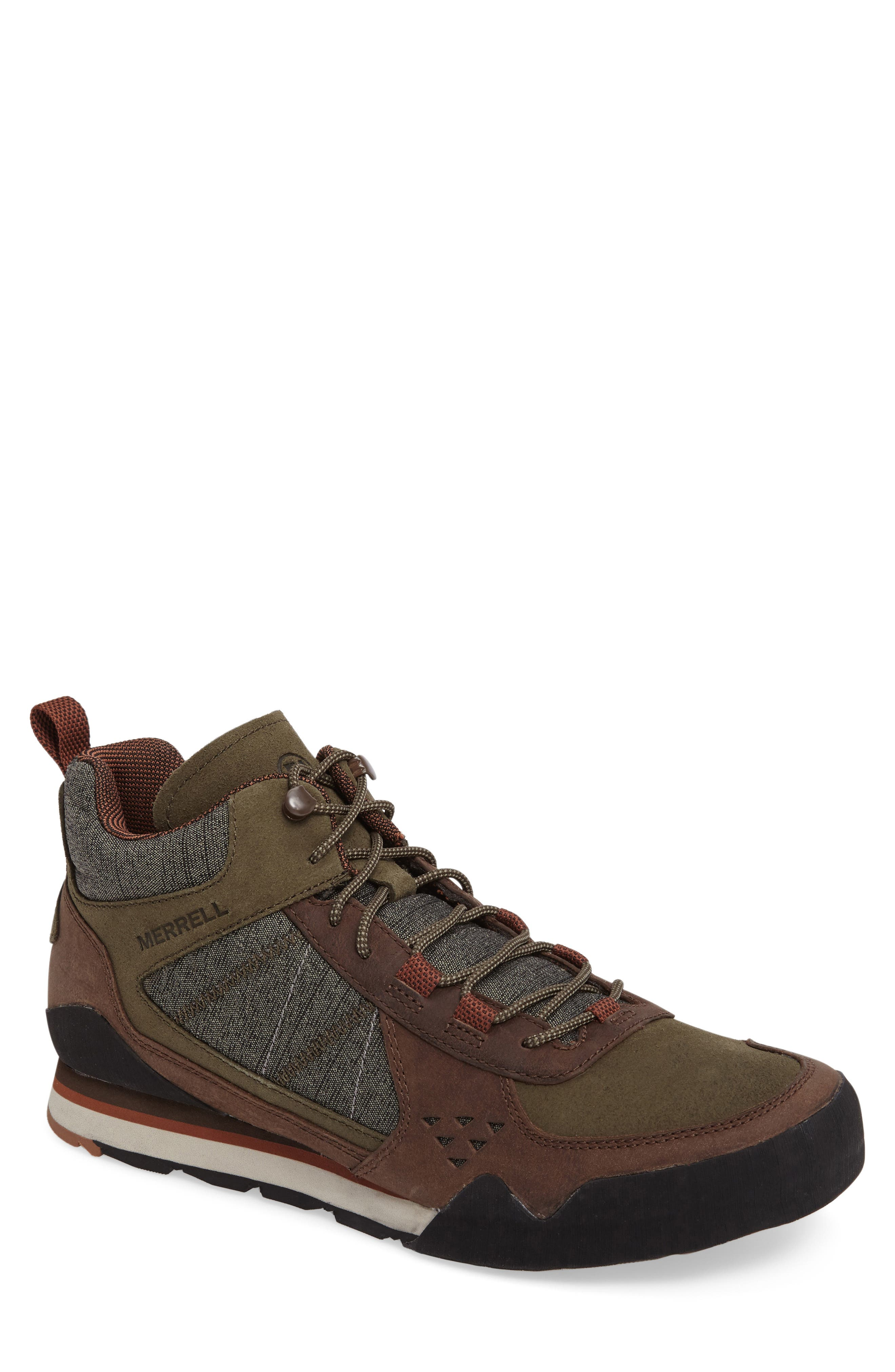 Merrell Burnt Rock Mid Sneaker (Men)