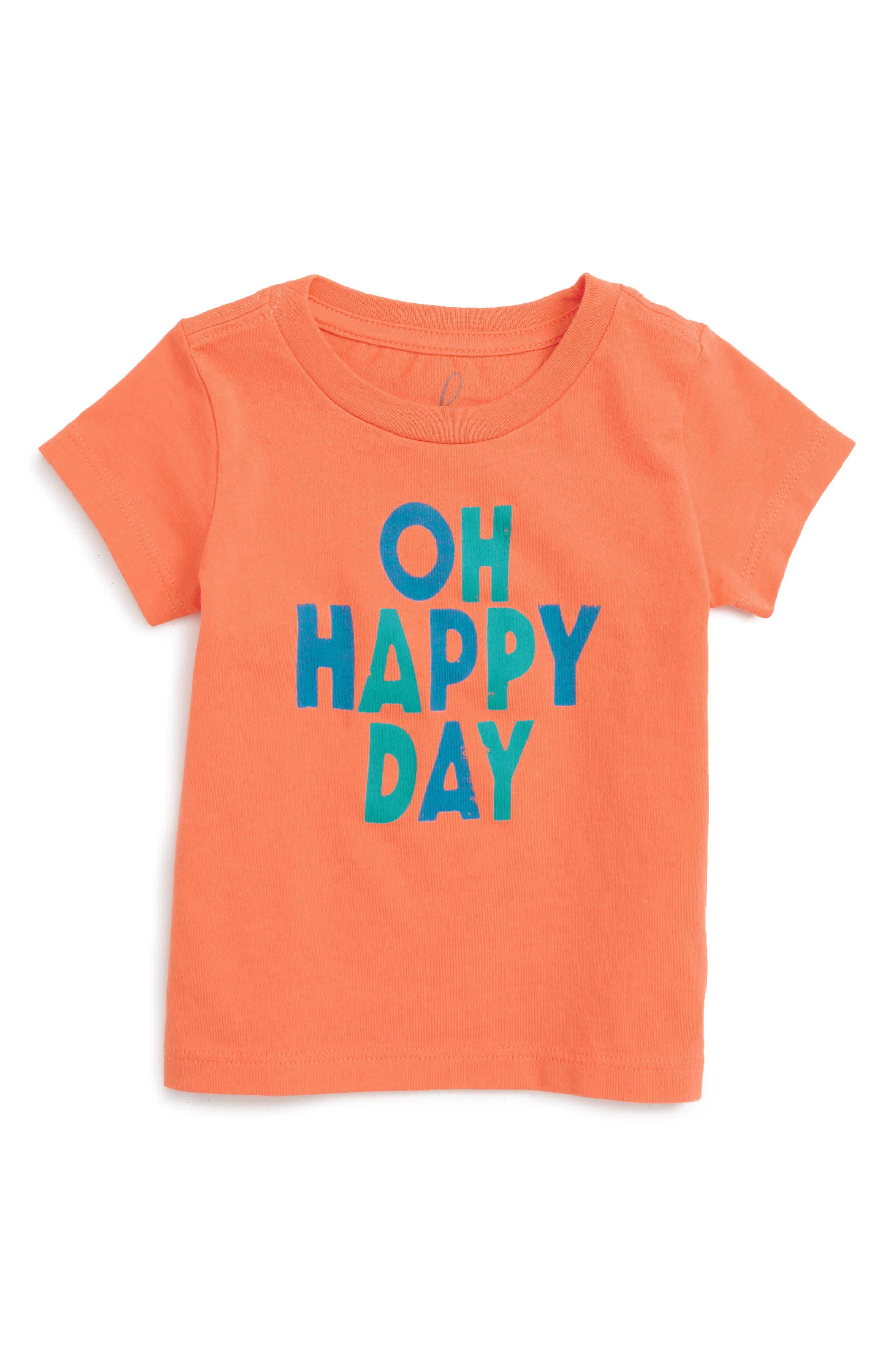 Peek Oh Happy Day Graphic T-Shirt (Baby)