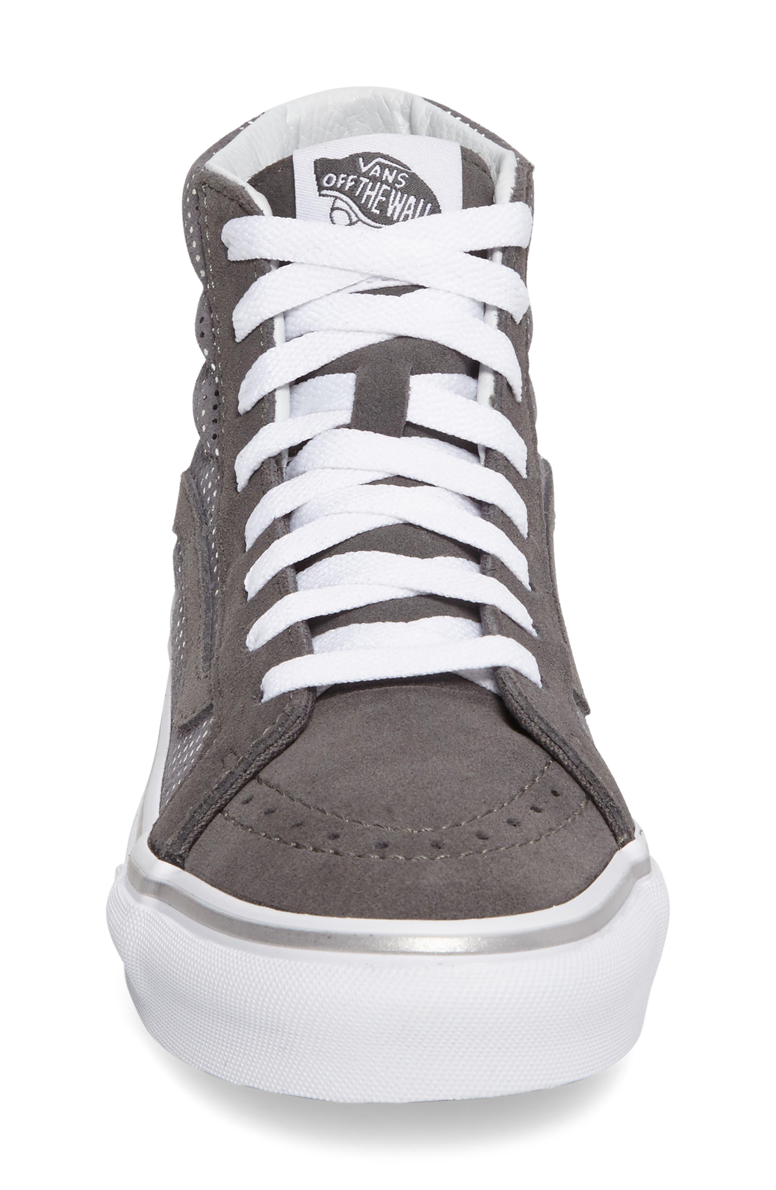 Alternate Image 3  - Vans Sk8-Hi Slim High Top Sneaker (Women)
