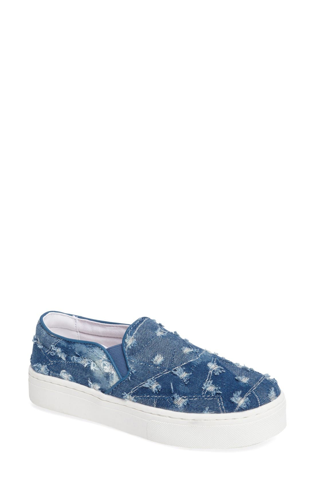 Sam Edelman Lacey Slip-On Platform Sneaker (Women)
