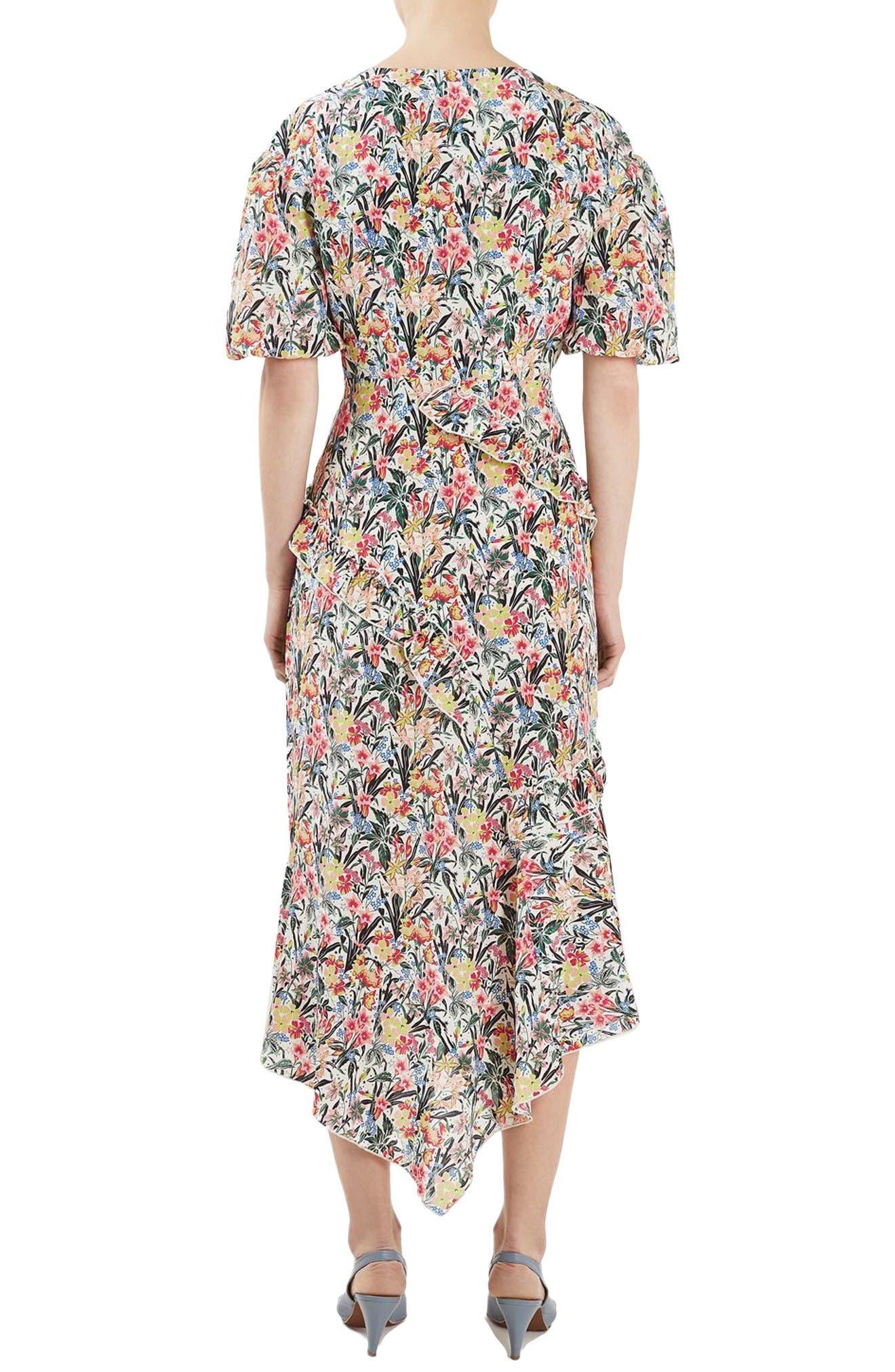 Alternate Image 3  - Topshop Unique Aster Silk Midi Dress