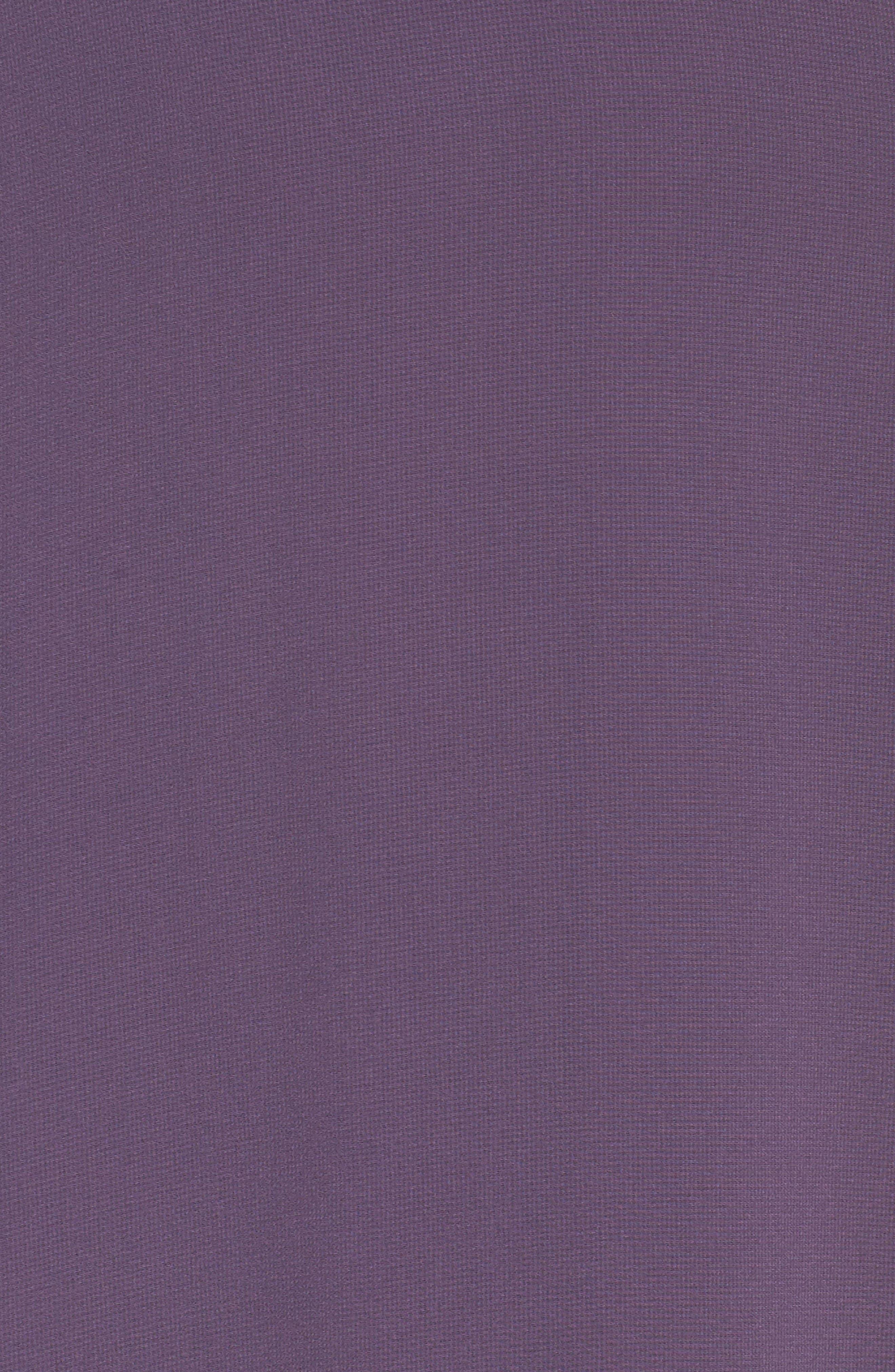 Alternate Image 5  - Lulus Cold Shoulder Chiffon Maxi Dress