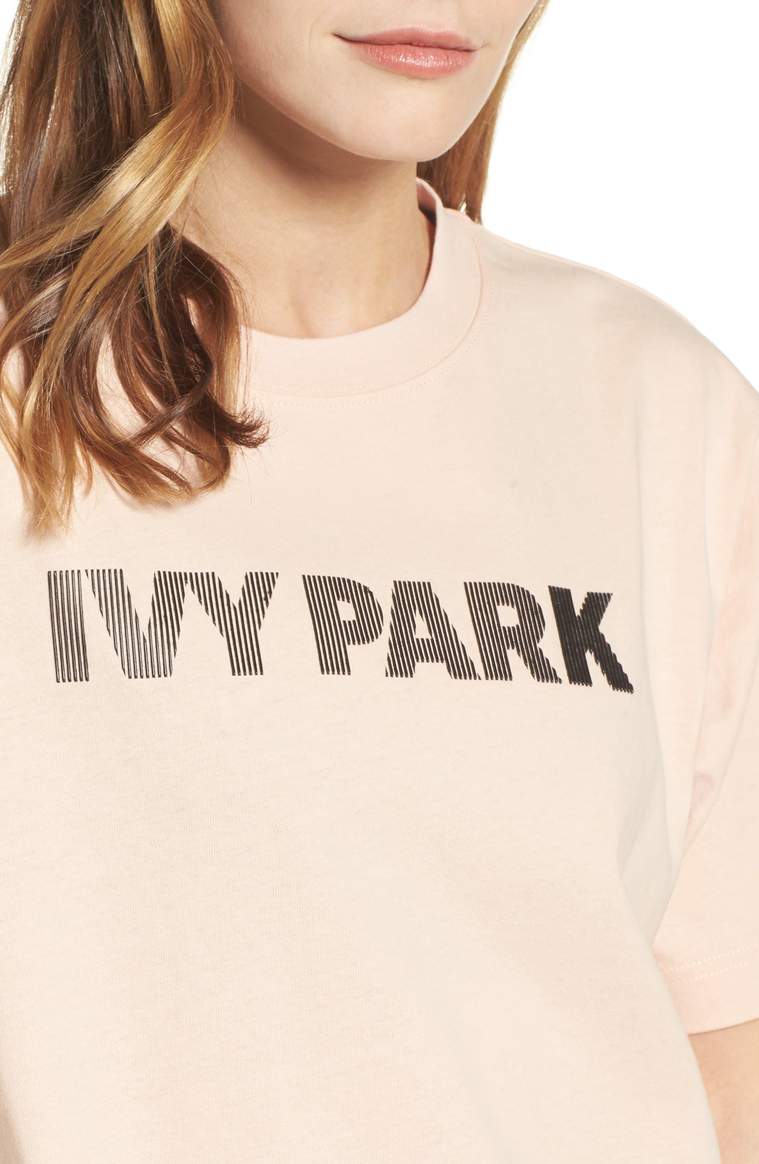 Alternate Image 4  - IVY PARK® Silicone Logo Tee