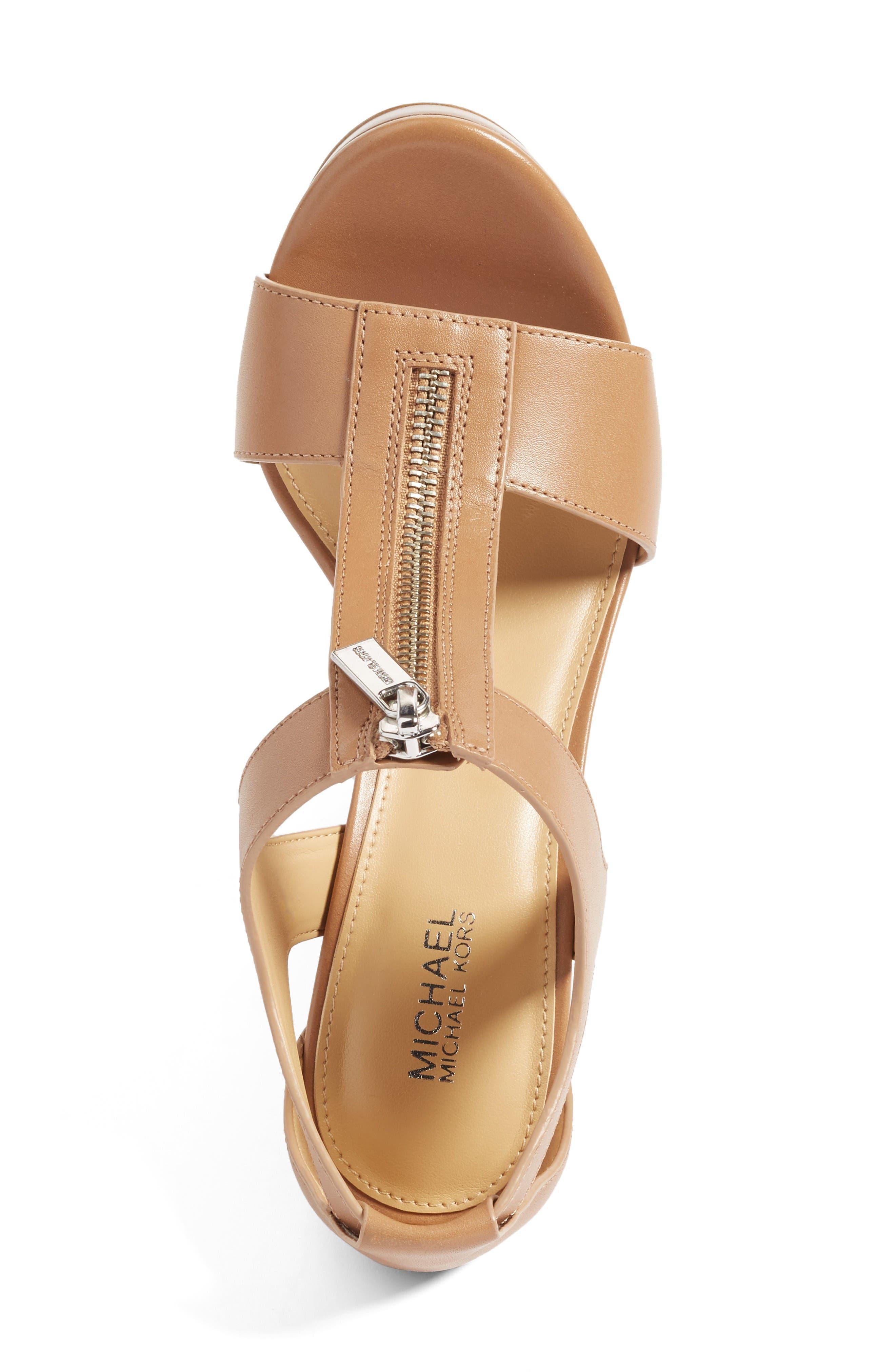 Alternate Image 3  - MICHAEL Michael Kors 'Berkley' T-Strap Sandal (Women)