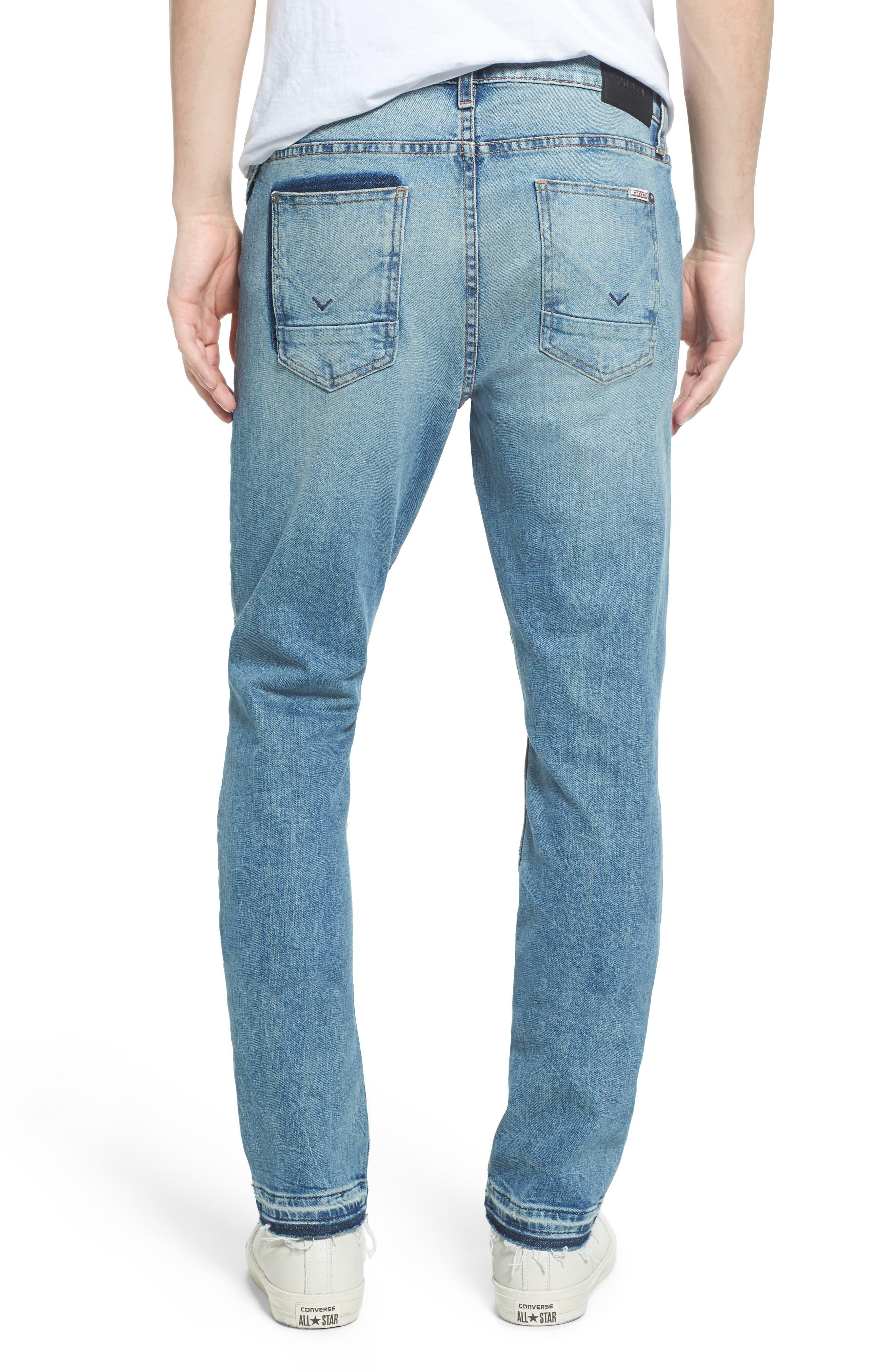 Alternate Image 2  - Hudson Jeans Blinder Biker Skinny Fit Jeans