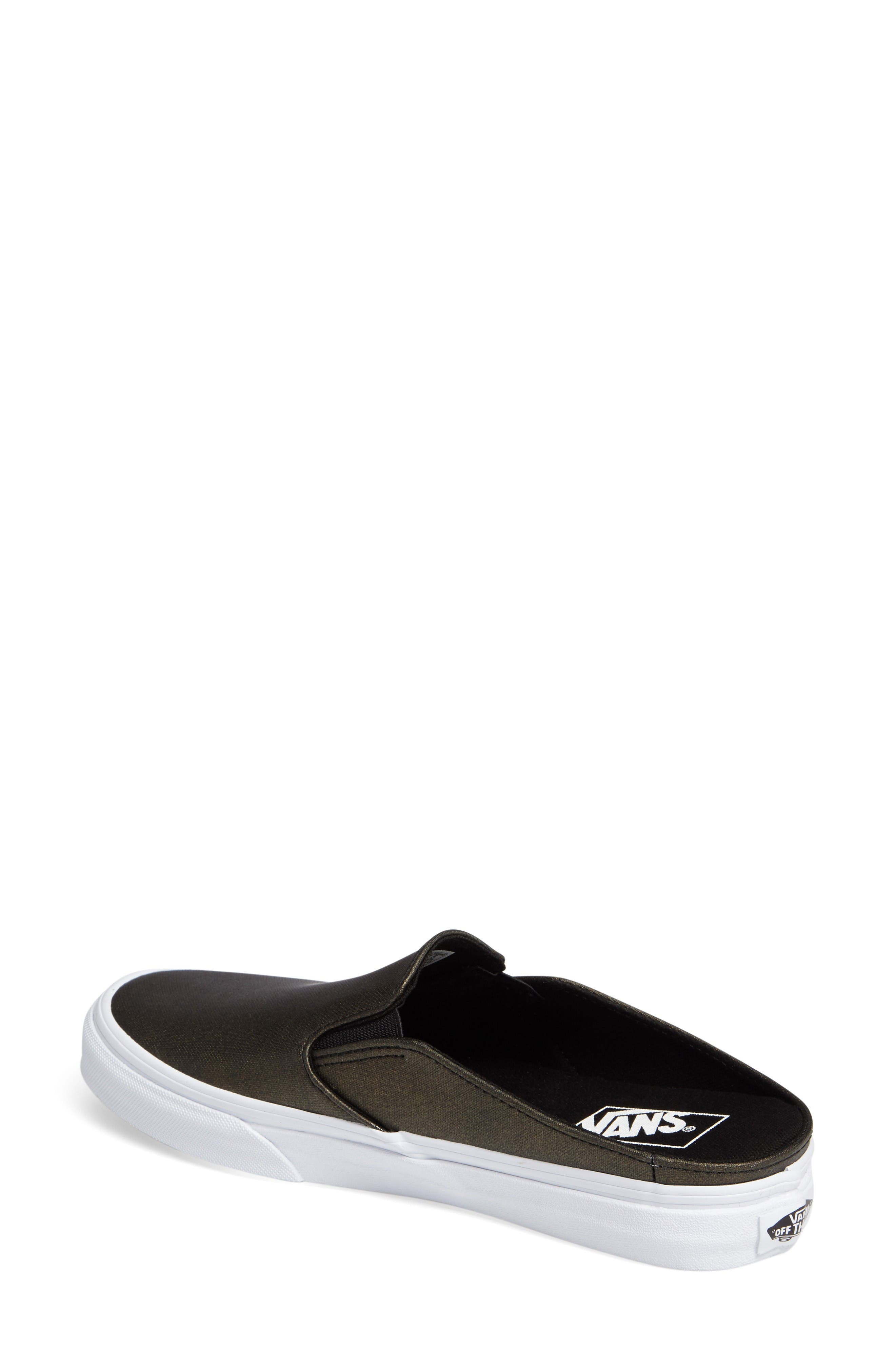 Alternate Image 2  - Vans 'Classic' Slip-On Sneaker Mule (Women)