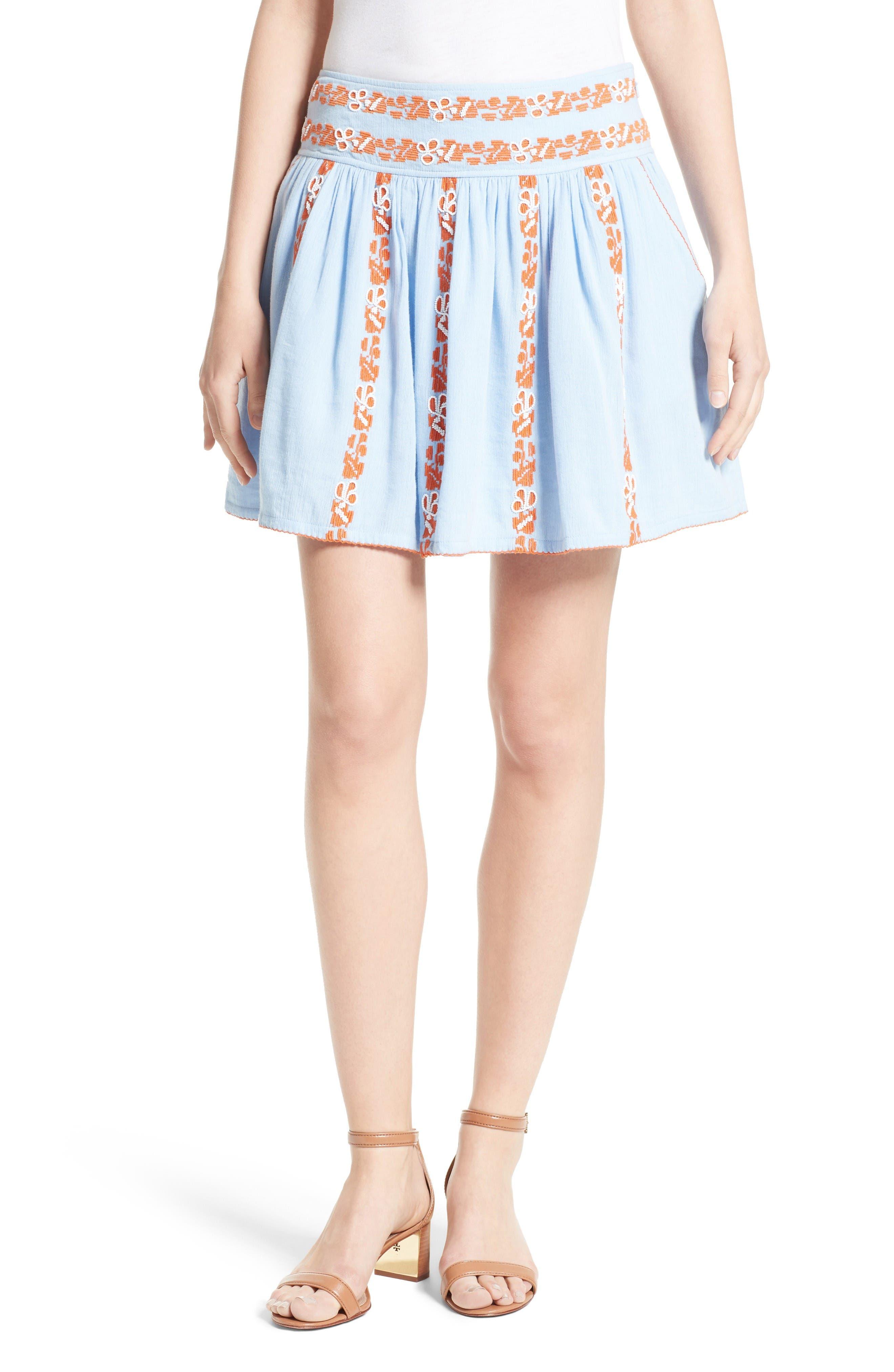 Tory Burch Alexandria Dirndl Skirt